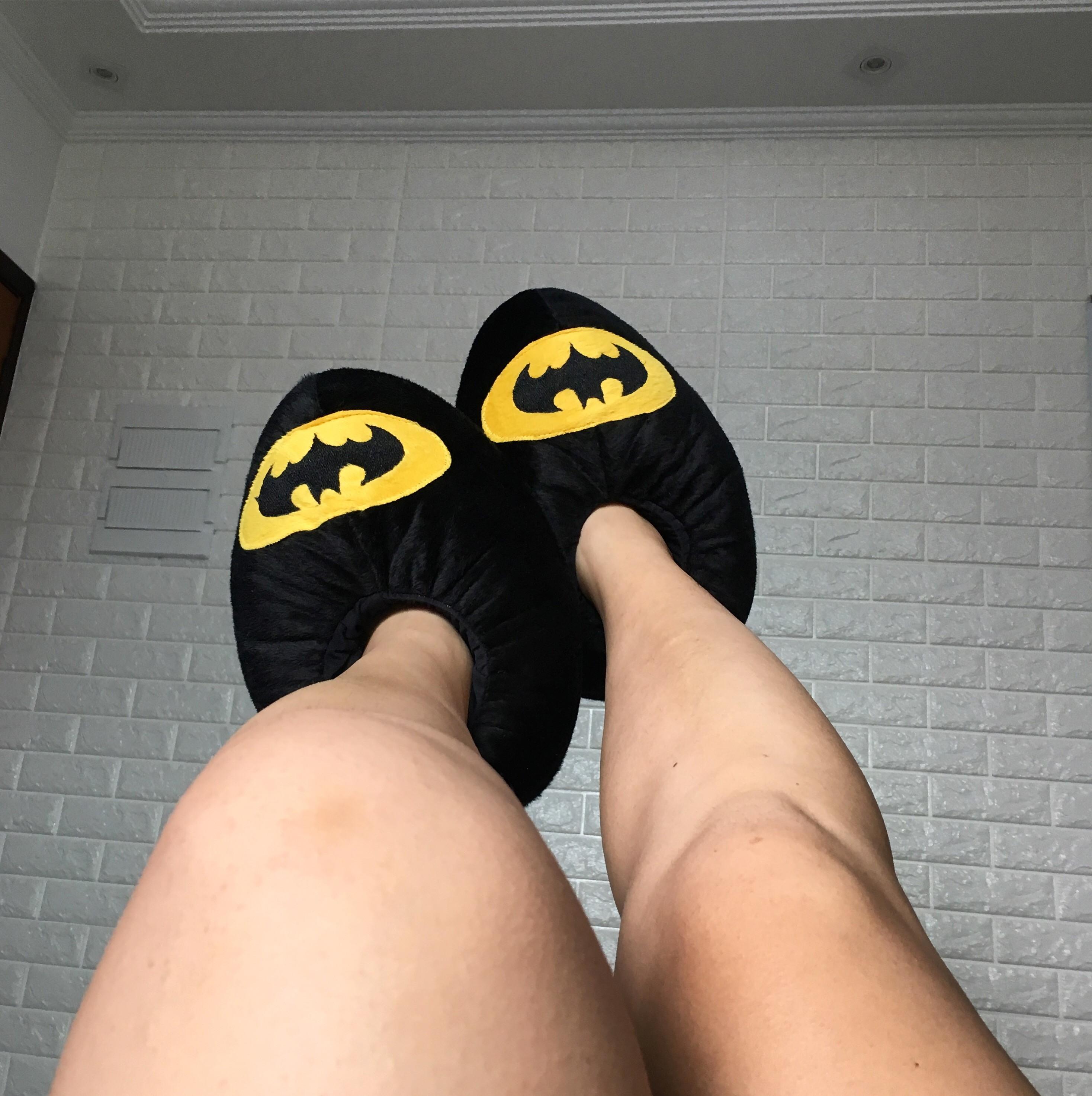 20ffcafcabcdc8 Pantufa Fechada Batman   Elo7