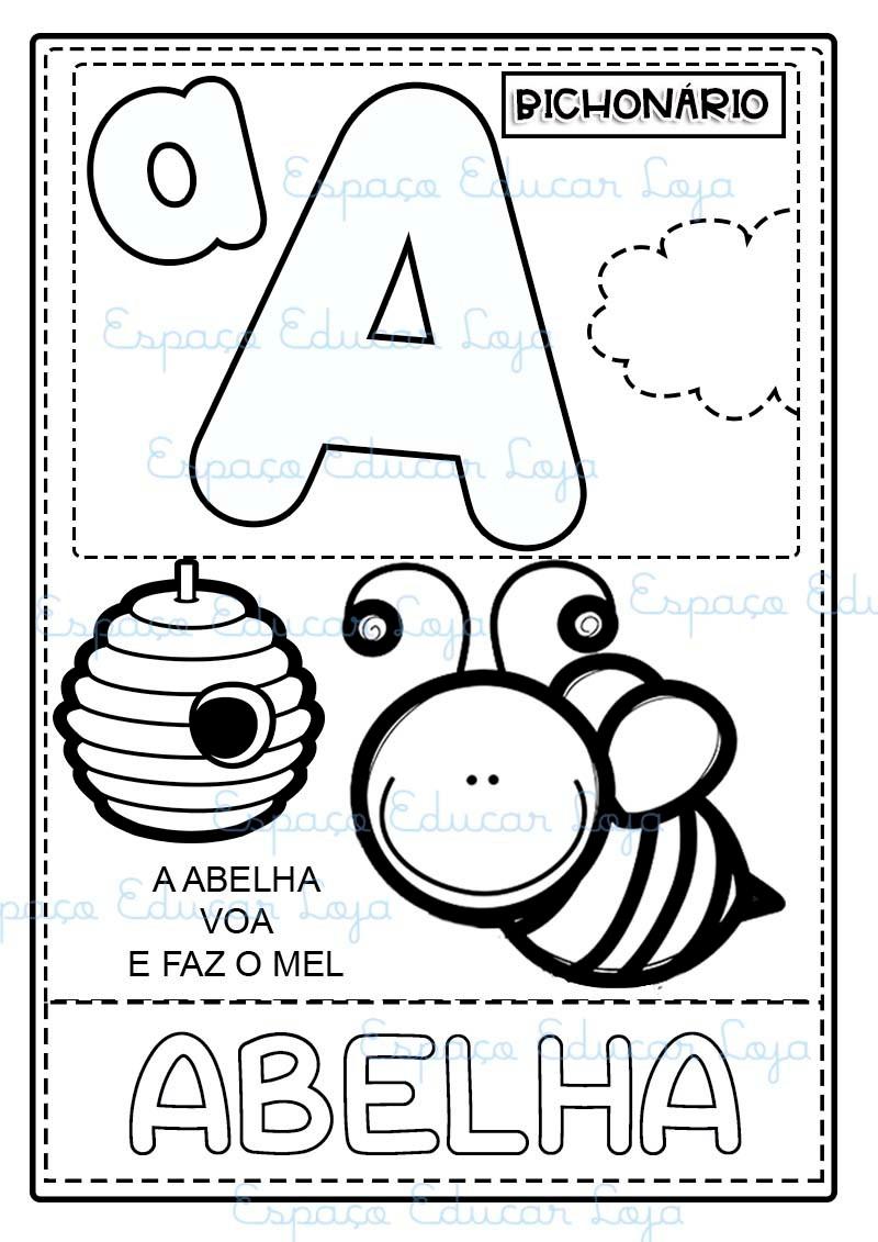 Bichonario Ilustrado Com Pequenos Textos Para Imprimir Pdf50 No