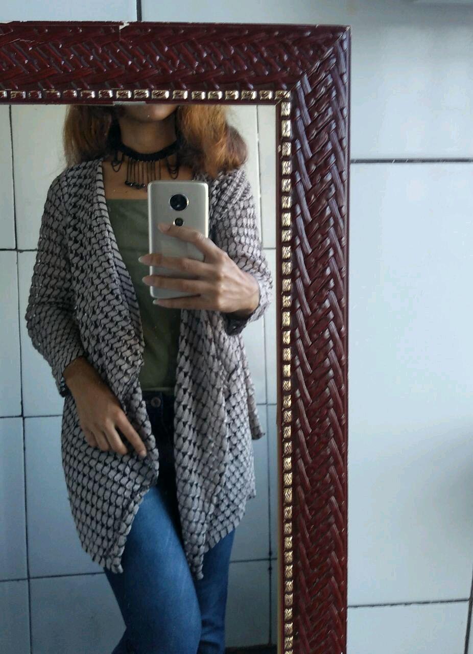 4db0db5fc Casaco Feminino Cardigan Kimono Tricot Trico Blusa | Elo7