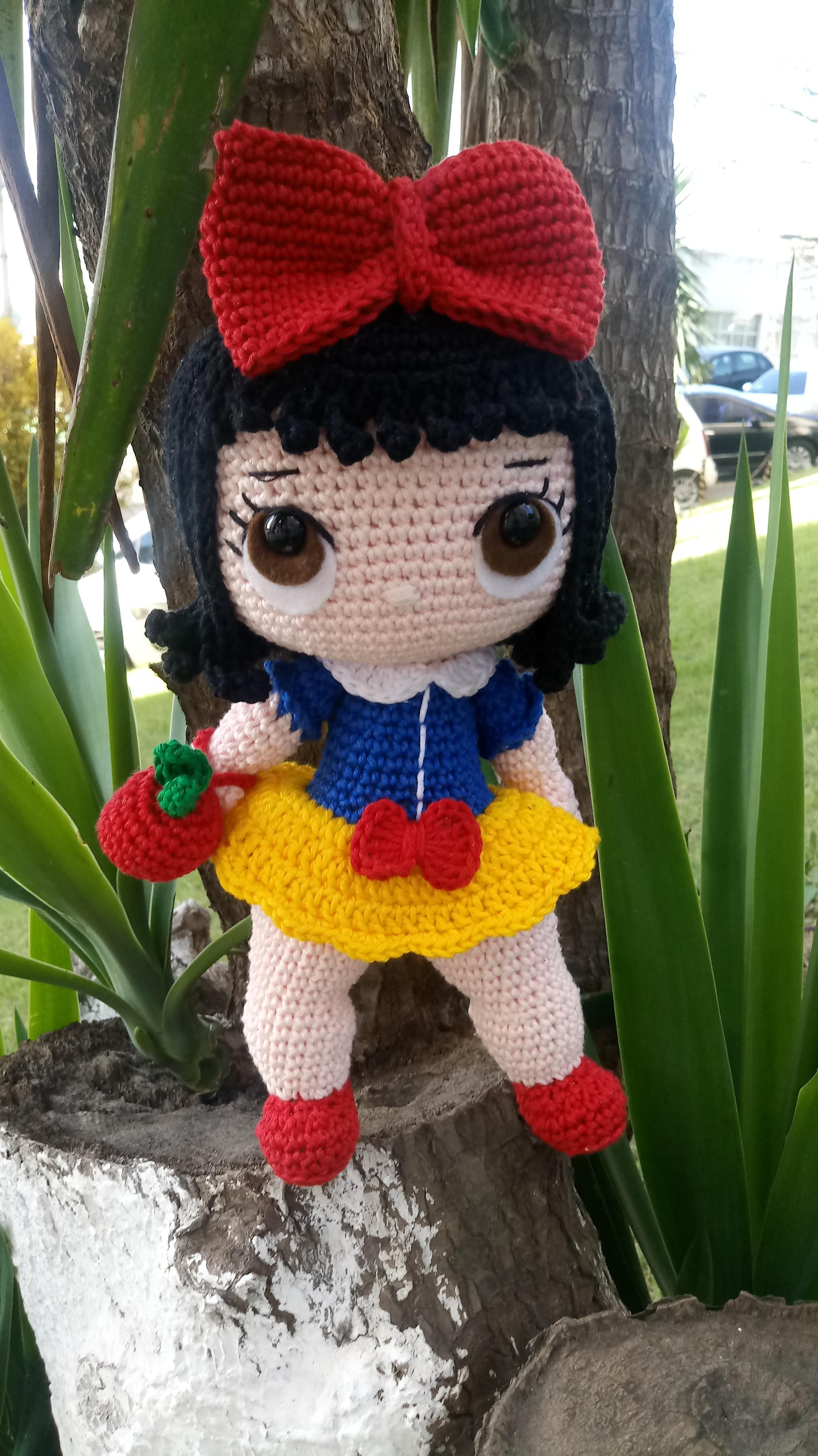 Pin de Cecilia Ma em Muñecas amigurumi | Bonecas de crochê, Boneca ... | 4160x2336