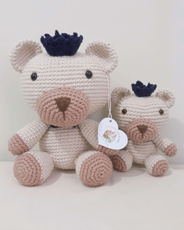 Urso grande de crochê no Elo7 | Caraminholas Croche (D74534) | 2903x2322