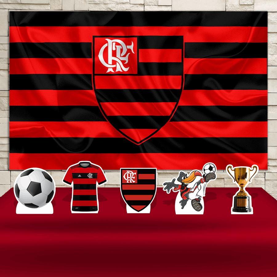 3285347223095f Kit Festa Prata Painel + Display Time Futebol Flamengo no Elo7 | Impakto  Visual (FD88CB)