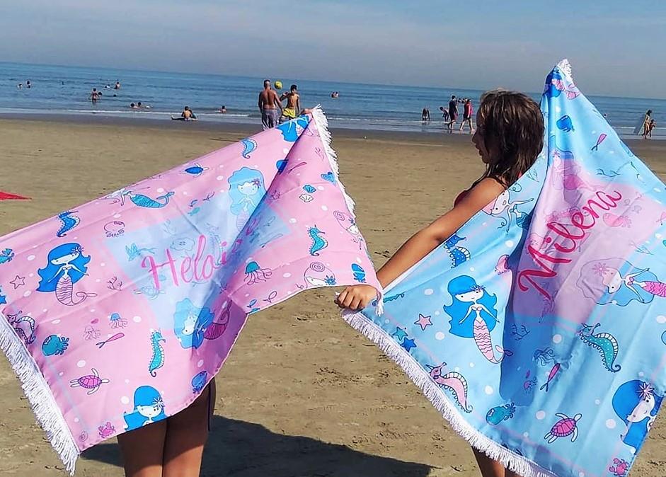 b3bb9e0b9c0b Canga de Praia Infantil | Elo7