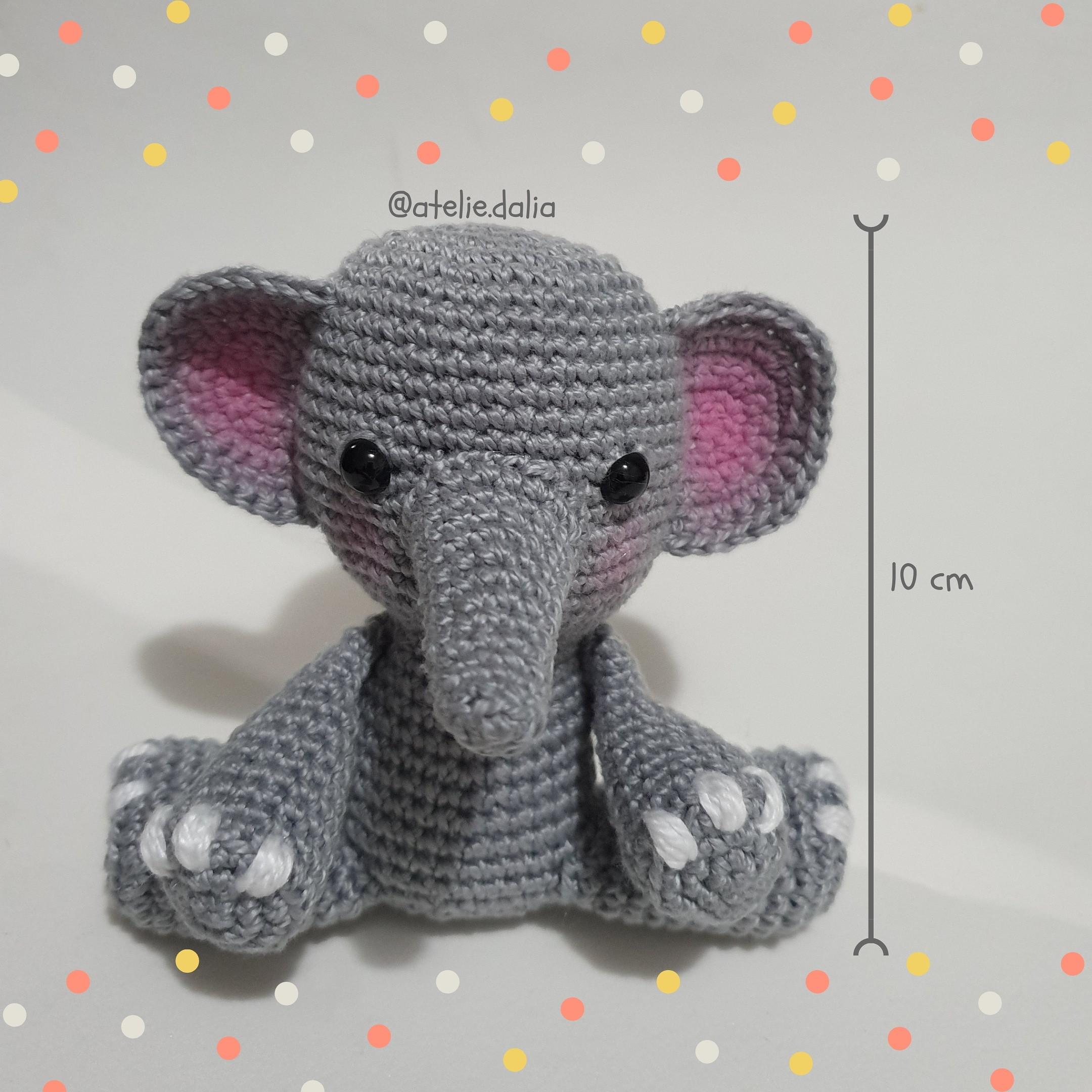 Elefante Bebé Peluche Juguete Apego Tejido Crochet Amigurumi ...   2160x2160