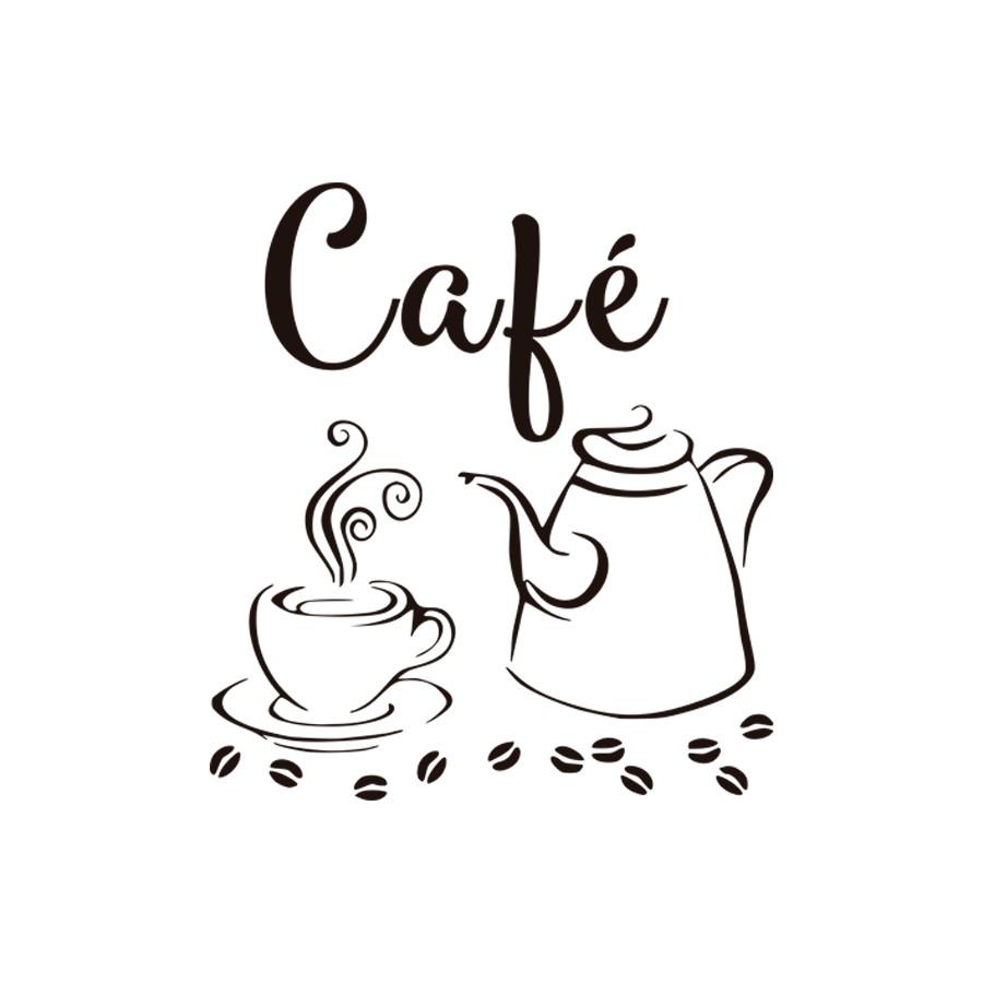 Adesivo Decorativo Parede Cozinha Cafe Com Bule No Elo7 Fama