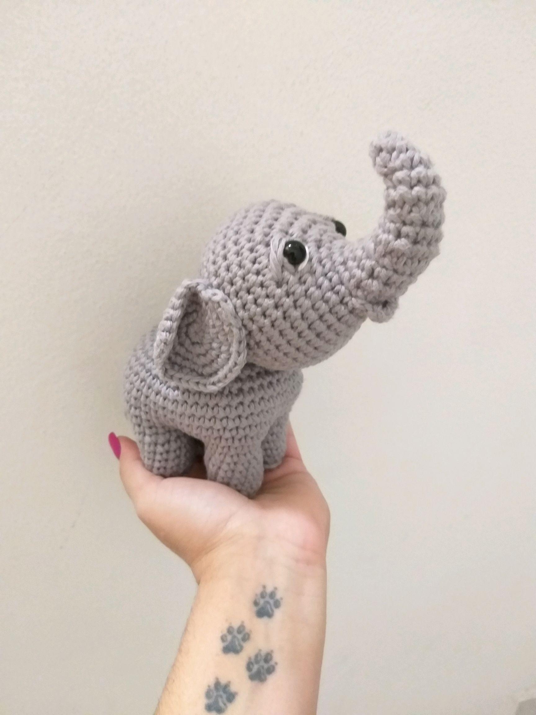 Elefante de crochet indio Jyoti | CrochetyAmigurumis.com | 2304x1728