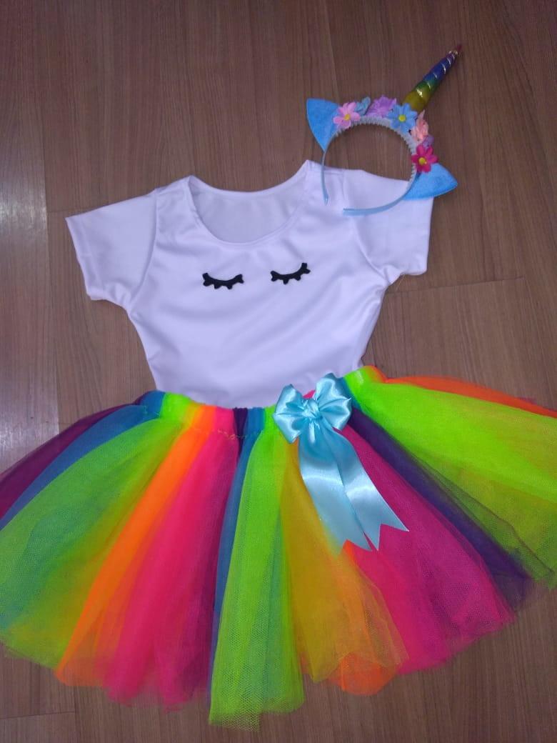 Fantasia Unicornio Infantil No Elo7 Atelier Festejando 100a30a