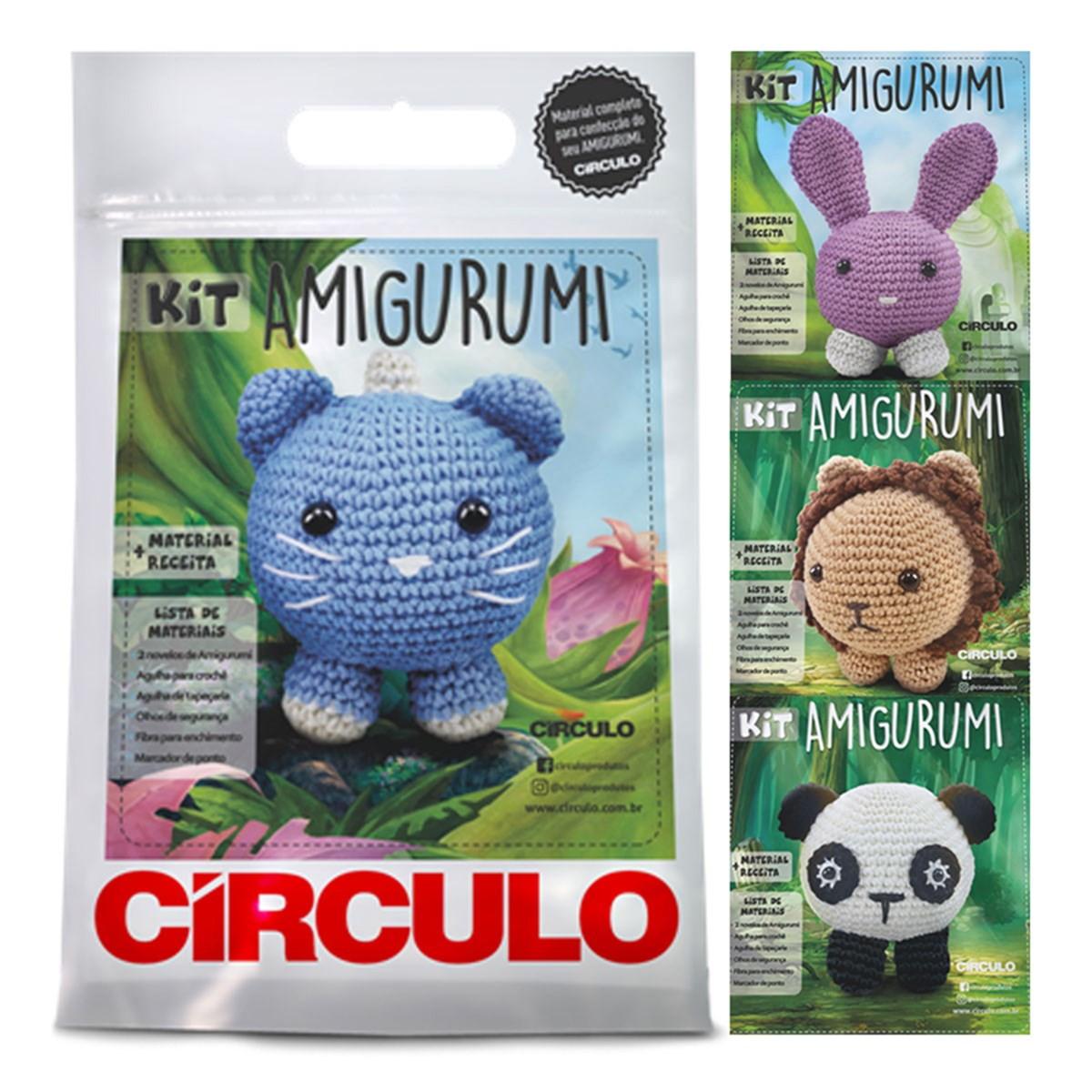 Kit Amigurumi Crochê Círculo S/A | 1200x1200