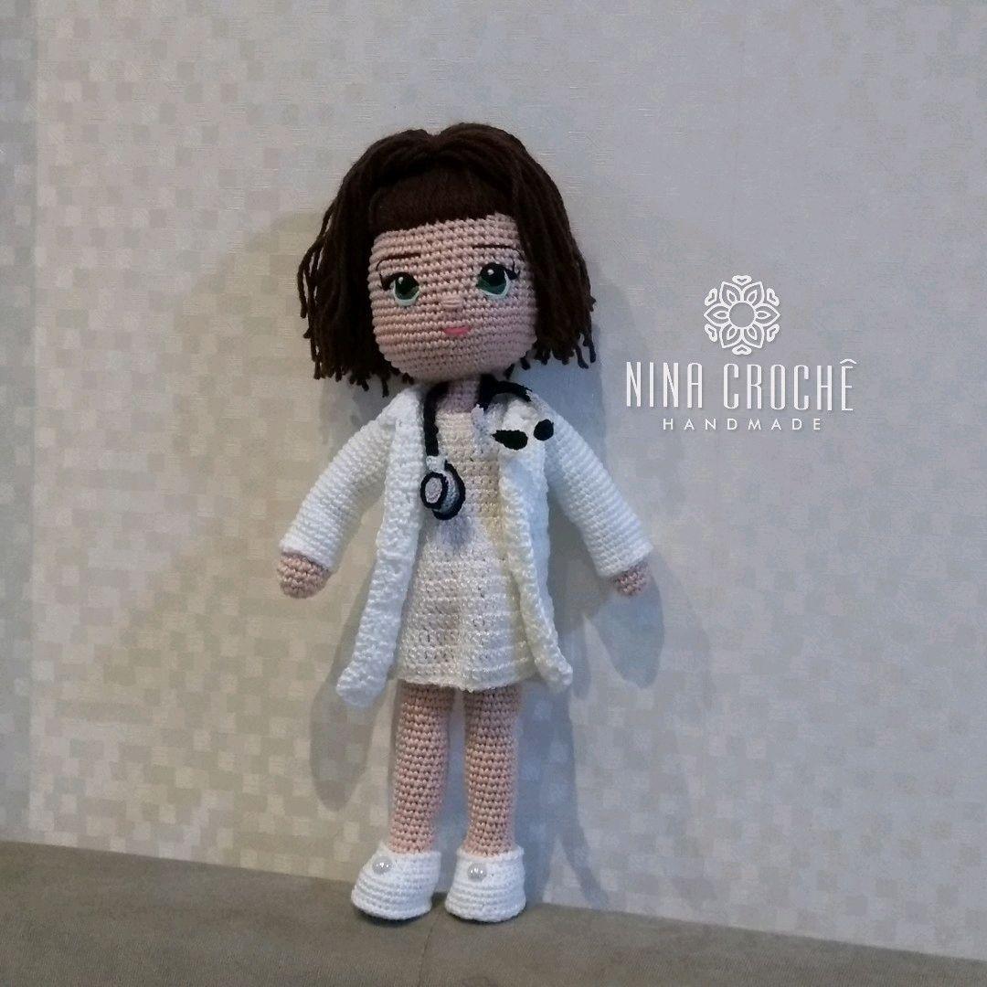 Dentist amigurumi crochet #handmade #cute #diy | Bonecas de croche ... | 1080x1080