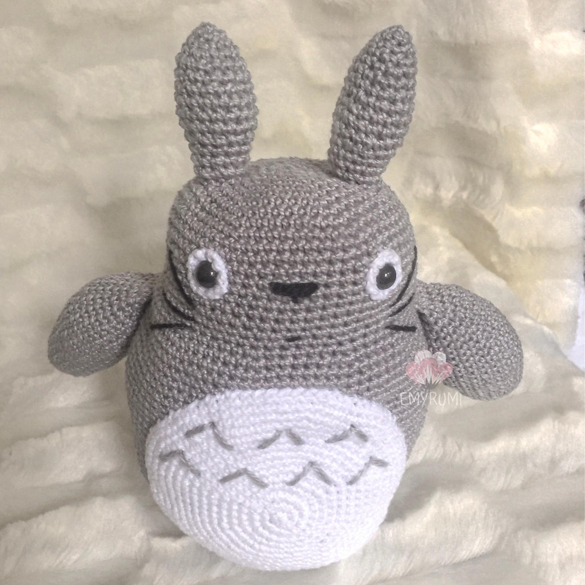 PDF patrón amigurumi Totoro, patrón crochet Totoro, patrón estudio ...   2000x2000