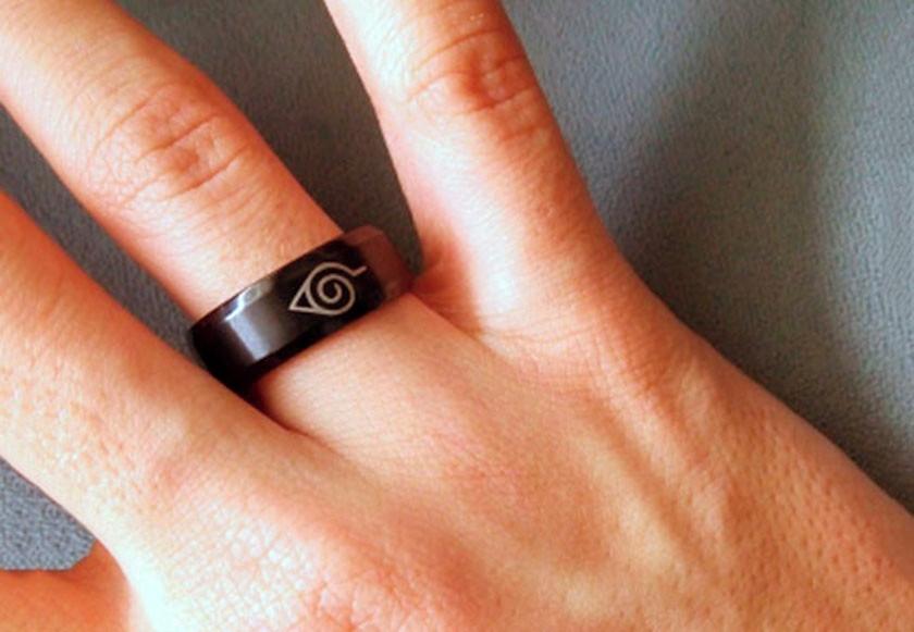 Naruto Konoha Ring