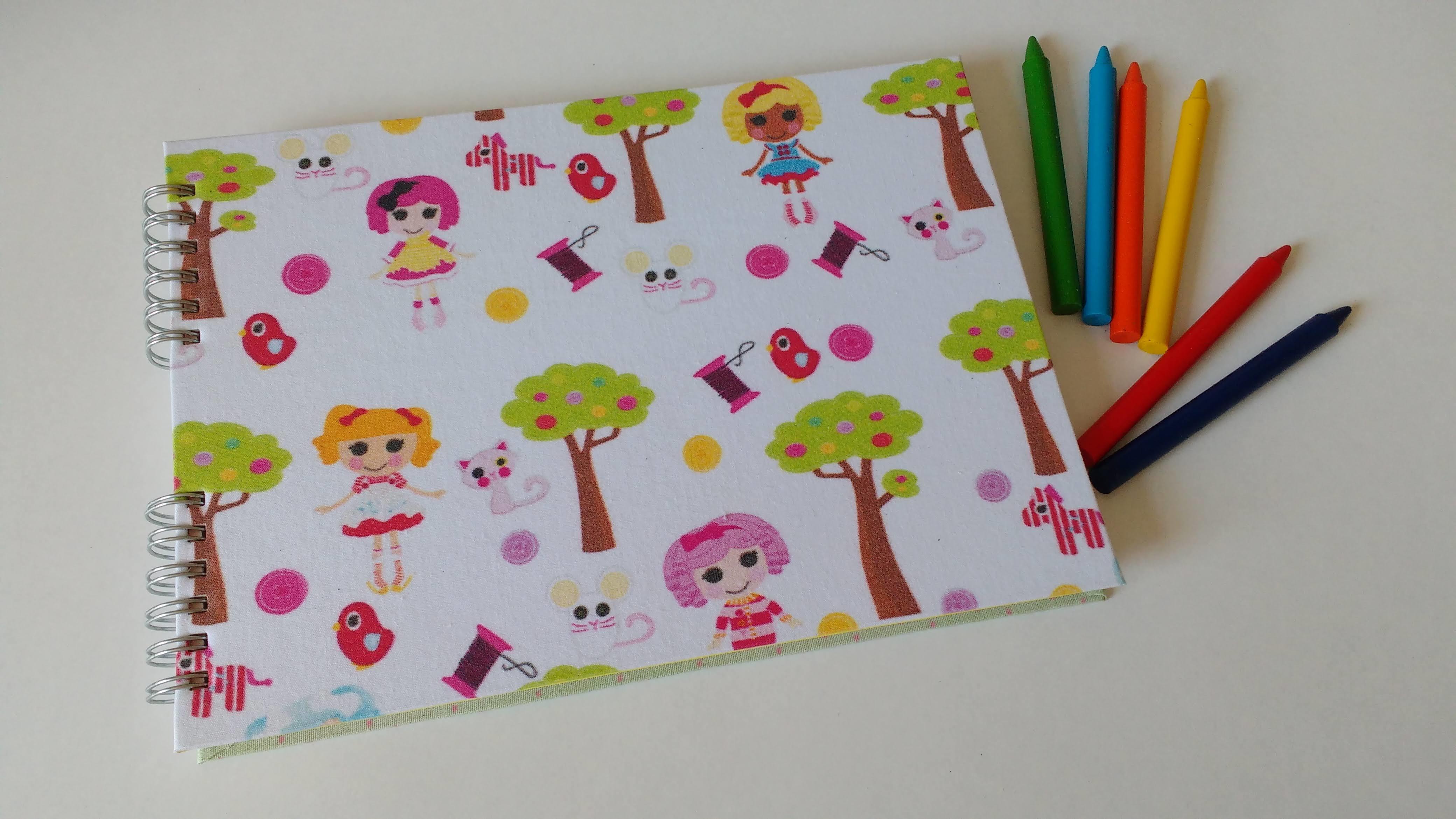 Caderno De Desenho Para Colorir Volta As Aulas No Elo7 Oficina