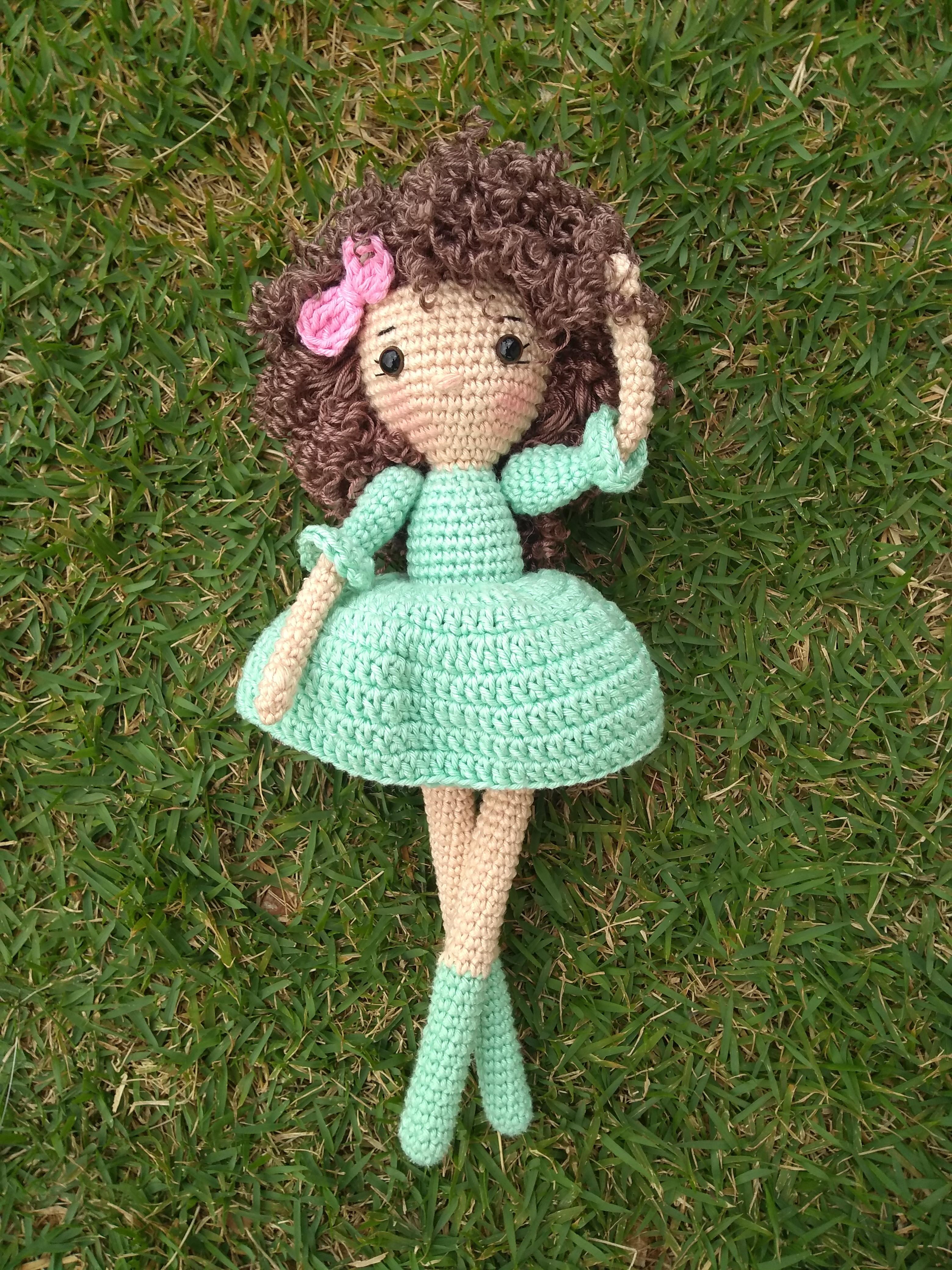 Receita Boneca Lara com Simoni Figueiredo | Bonecas de crochê ... | 4160x3120