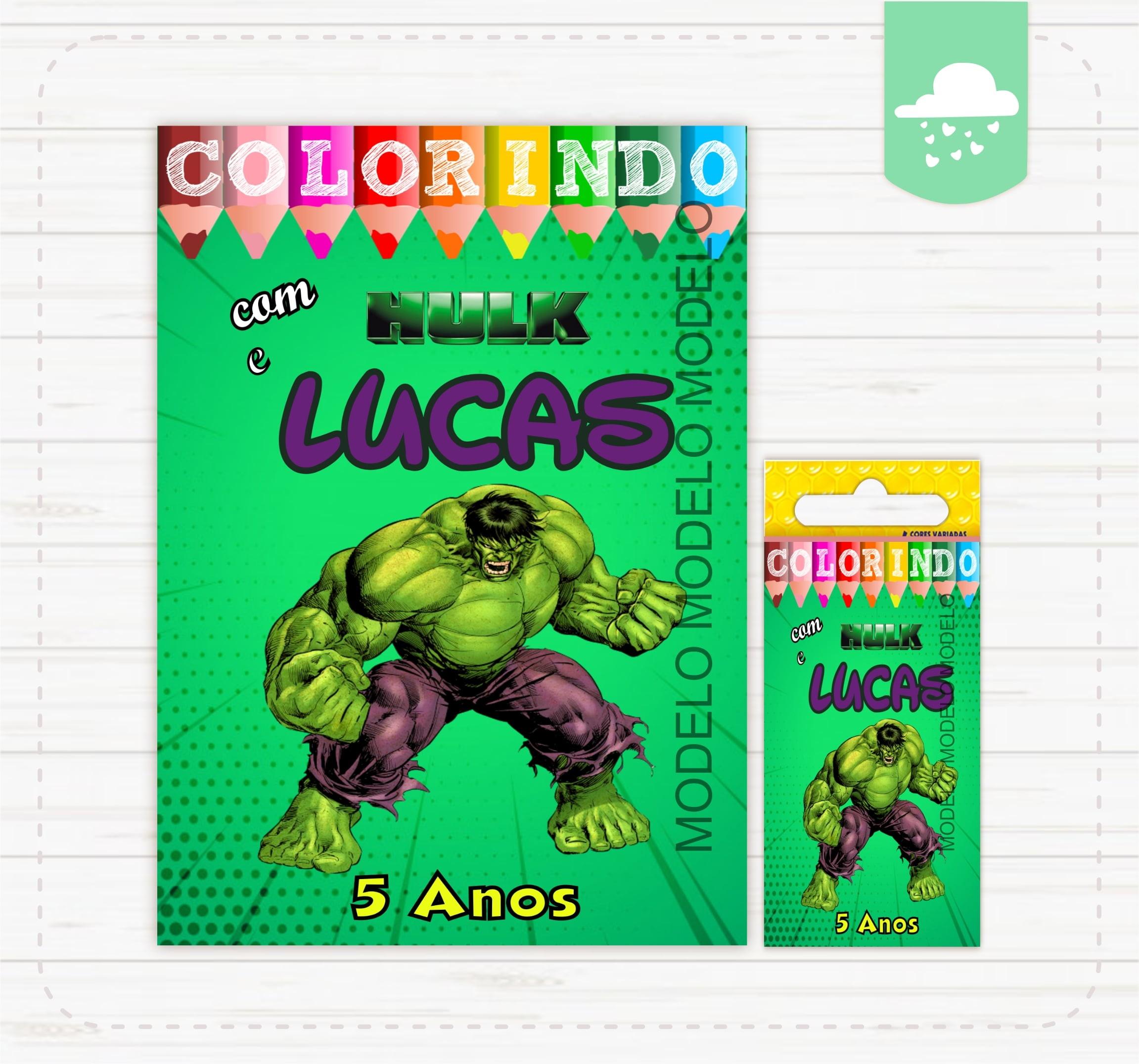 Hulk Kit Colorir No Elo7 Criativa Artes Bh Mg 10589a1