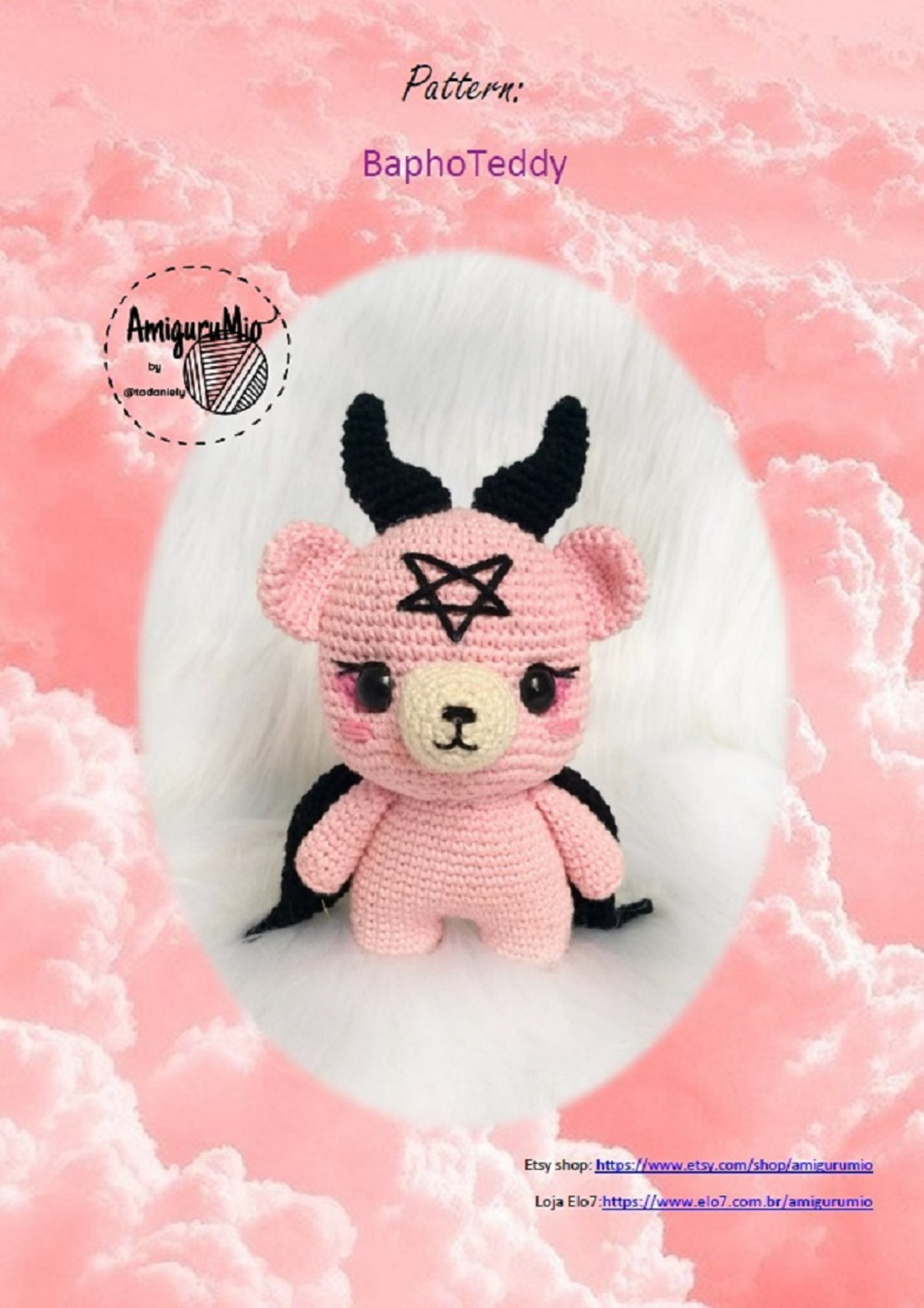 Ursinho Amigurumi - Receita | Bichinhos de croche, Urso de crochê ... | 2830x2000