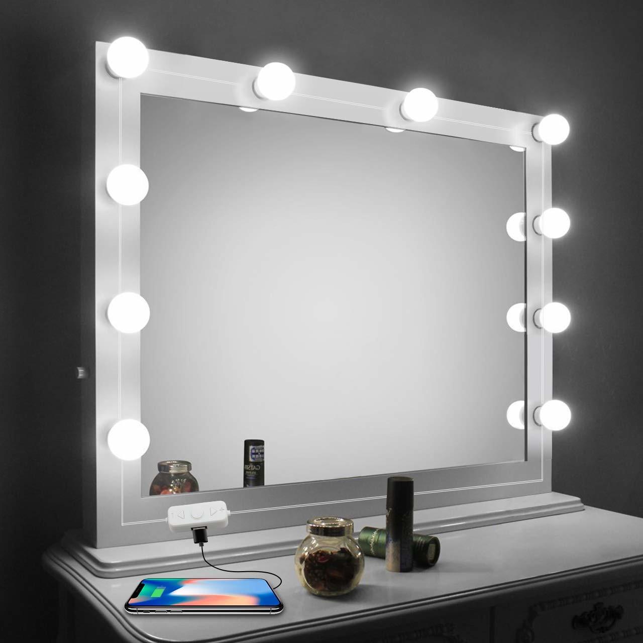 Lampada Para Espelho Camarim Colante Maquiagem Penteadeira No Elo7 Megaju 108785a