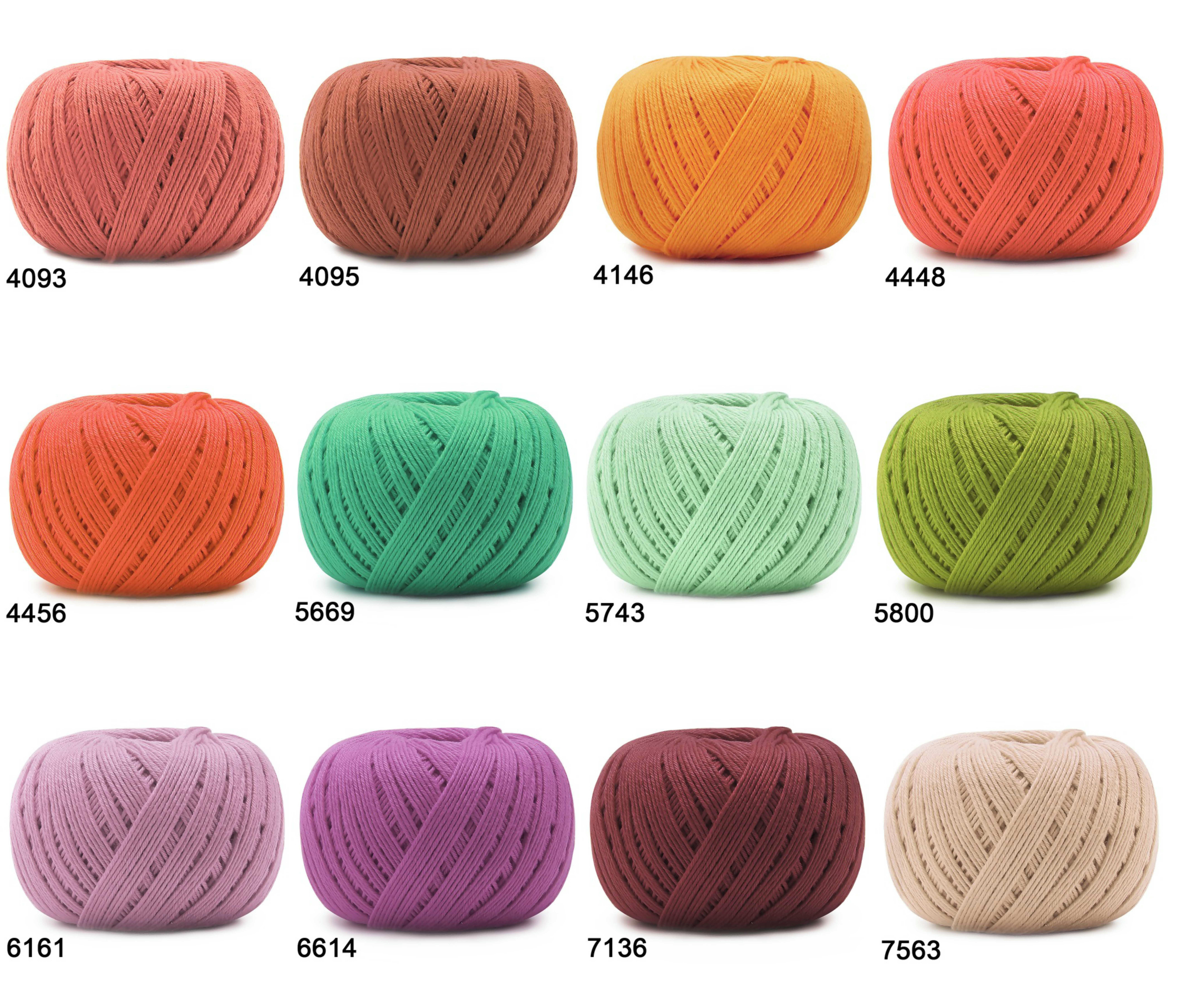 Linhas de crochê, Tipos e dicas – Crochê para iniciantes! – só crochê | 7234x8472