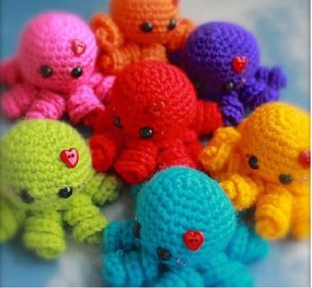 Como fazer polvo de crochê - Como Fazer Croche.ART.BR | 580x627