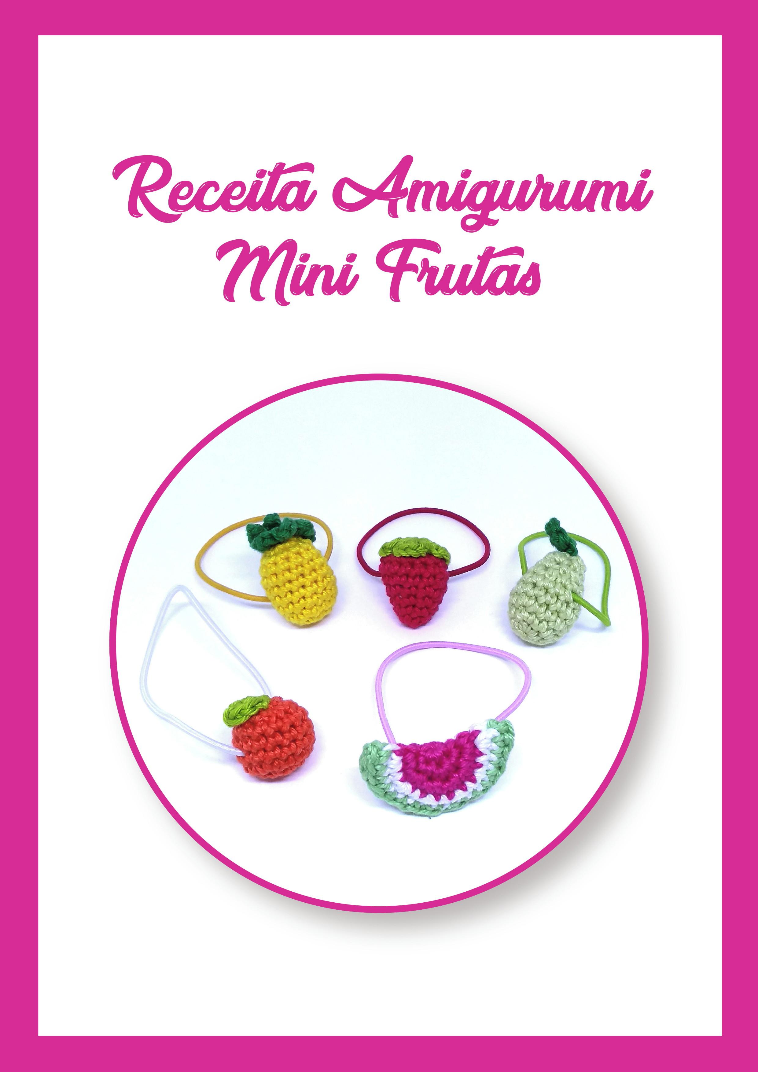 Dicas Amigurumi Frutas de Crochê - Top Abacaxis Amigurumi Receita - YouTube | 3507x2480