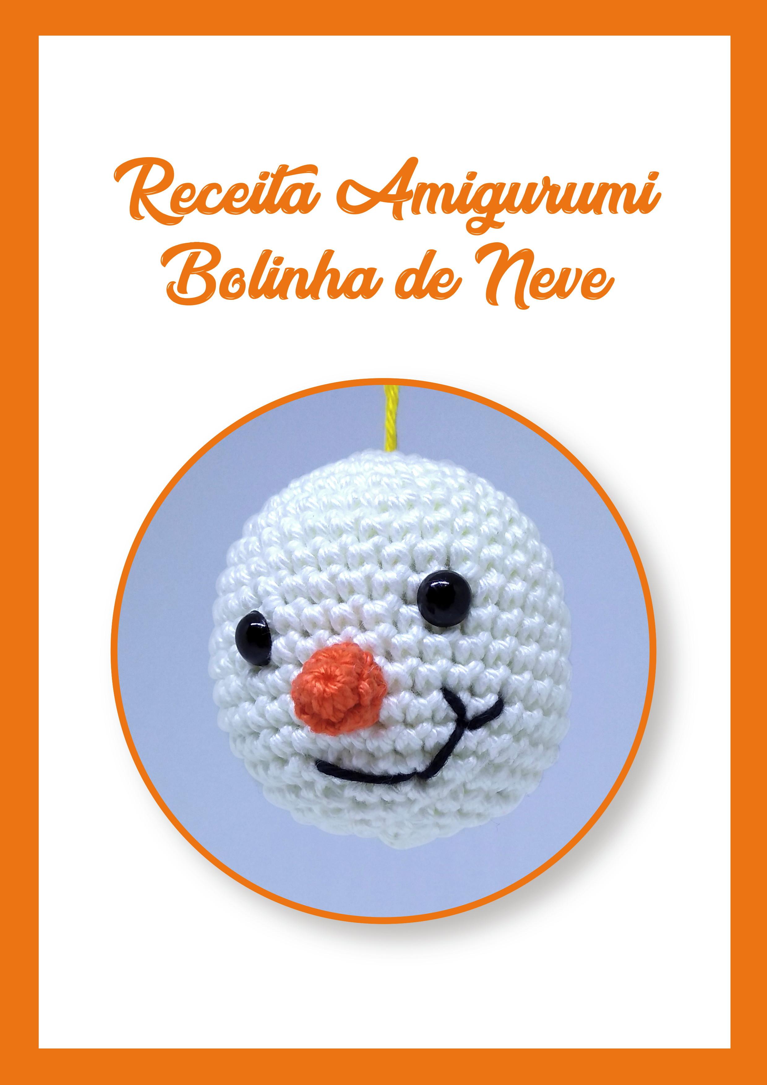 Receita em Pdf Bonecos de Neve (com imagens) | Boneco de neve ... | 3507x2480