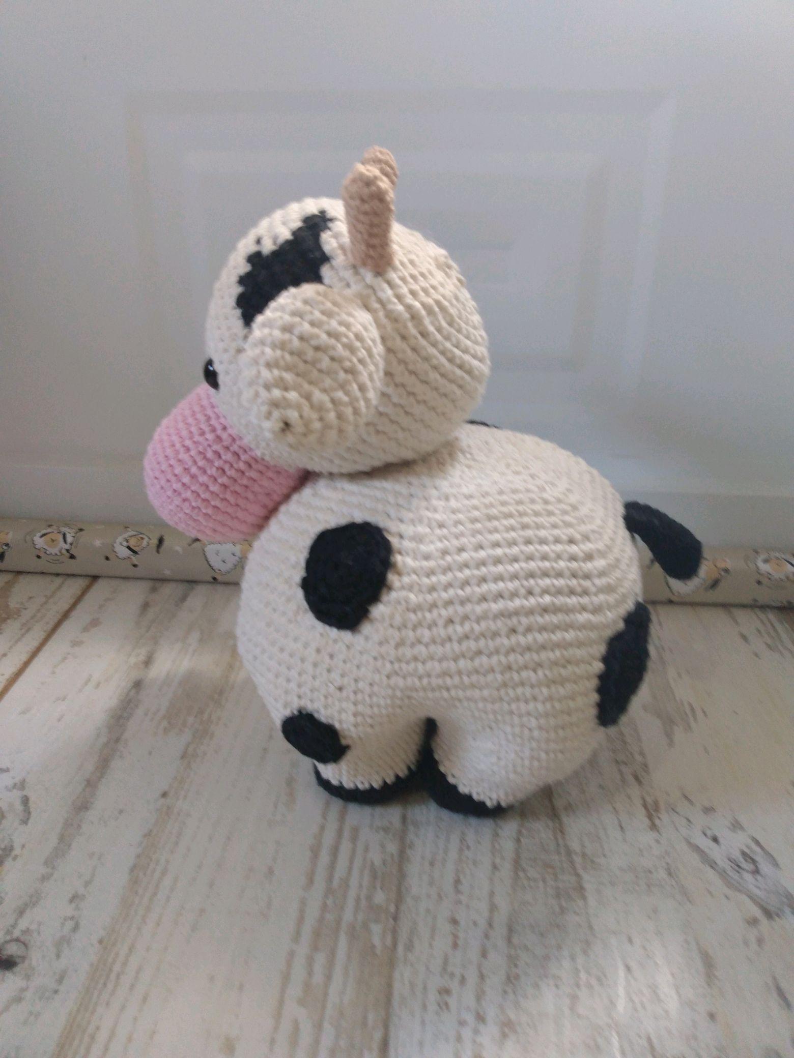 Receita Vaca com Fio Amigurumi - Blog do Bazar Horizonte | 2080x1560