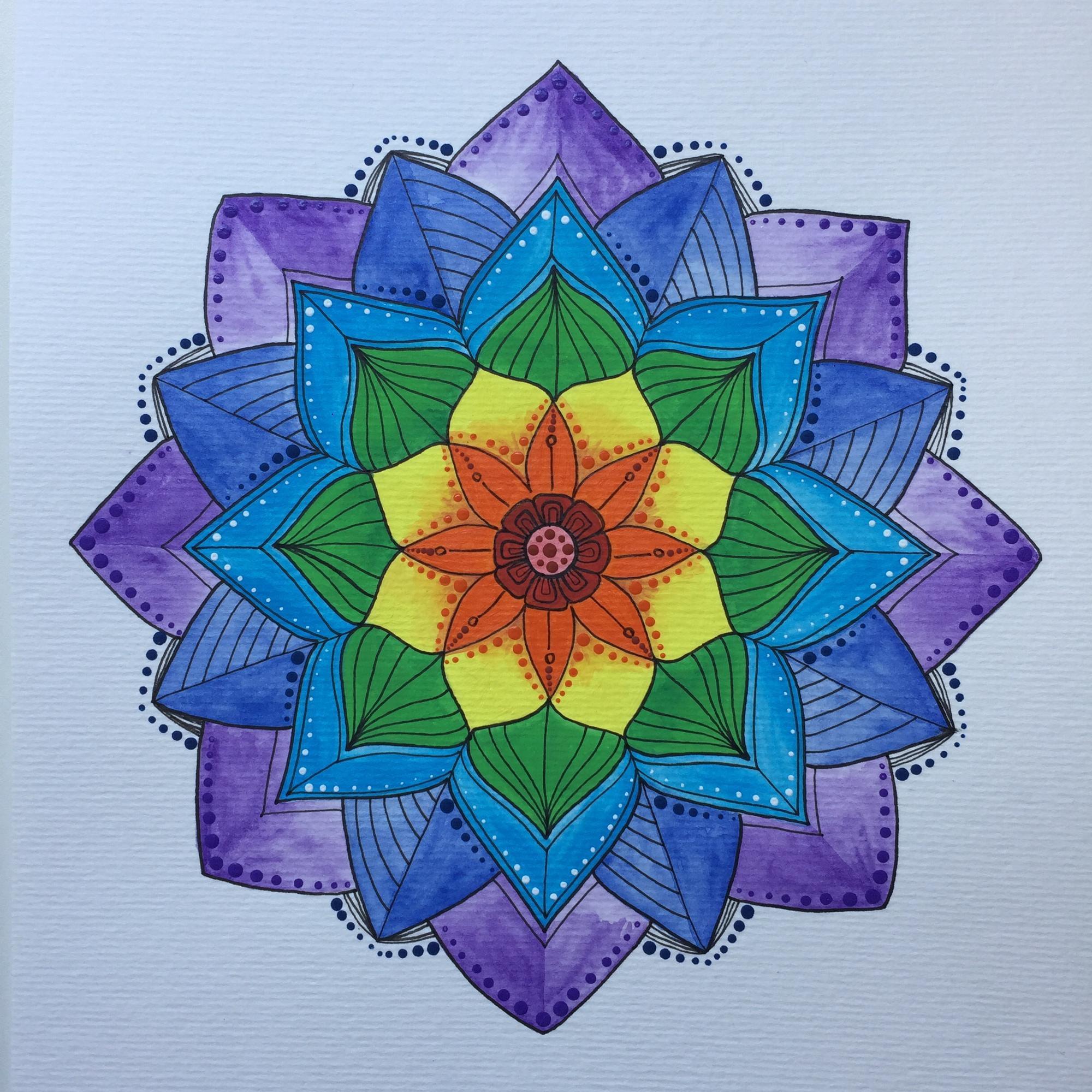 Mandala Desenho Chakras No Elo7 Daniela Art 111103c
