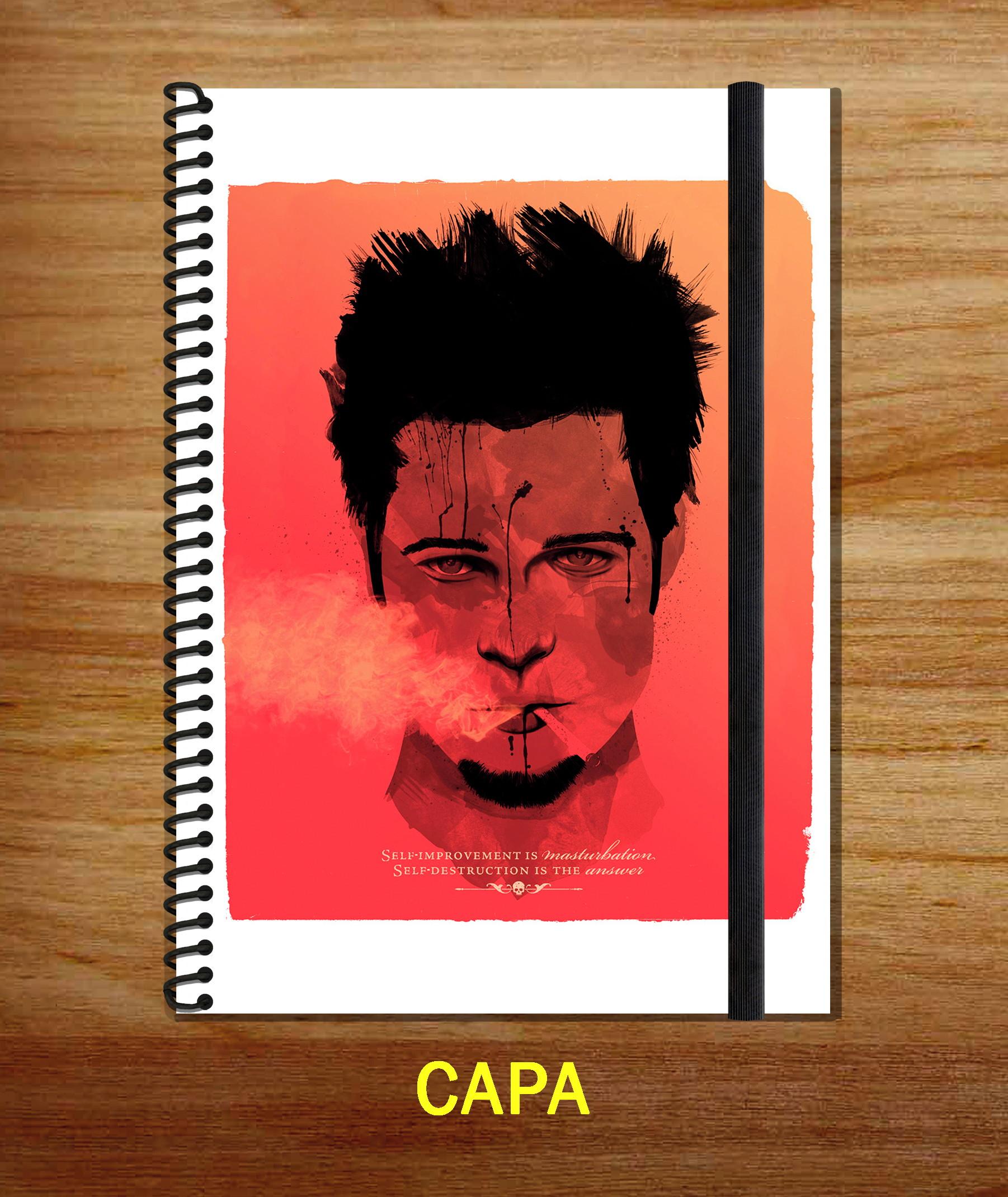 Sketchbook A5 Capa Dura Clube Da Luta Fight Club 4 No Elo7