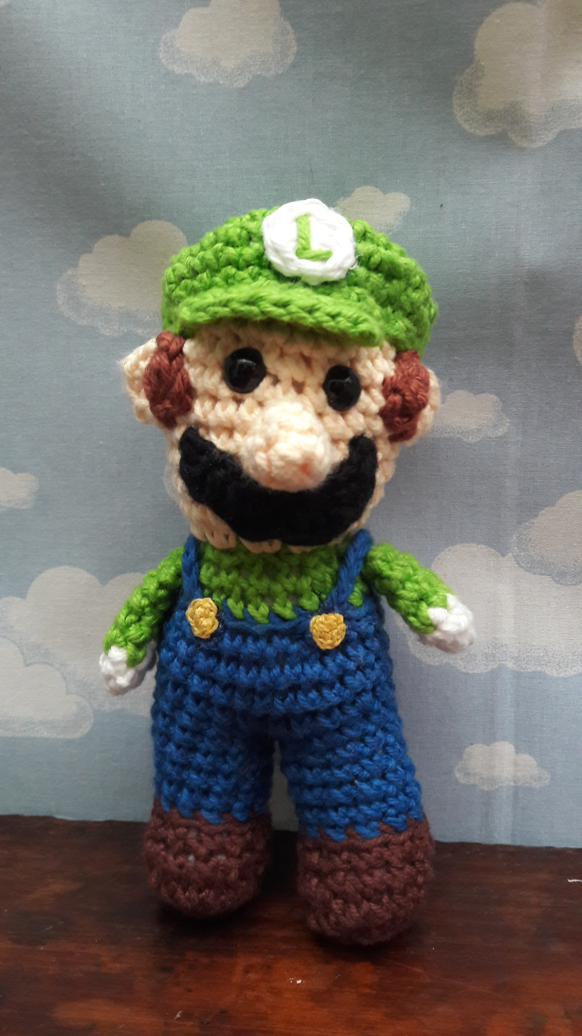 Luigi (With images) | Crochet patterns amigurumi, Crochet, Crochet ... | 4128x2322