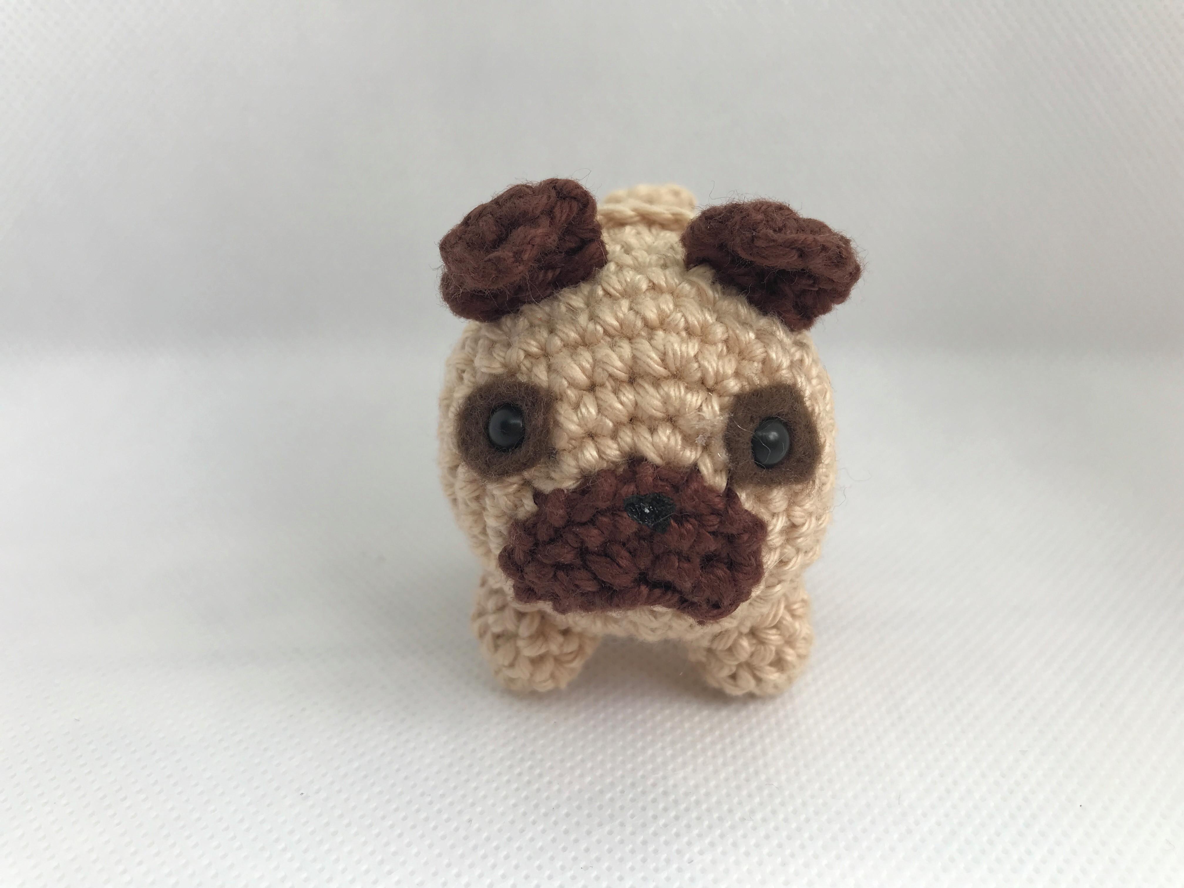 Pug pattern - free amigurumi pug crochet pattern | Amigurumi de ... | 3024x4032
