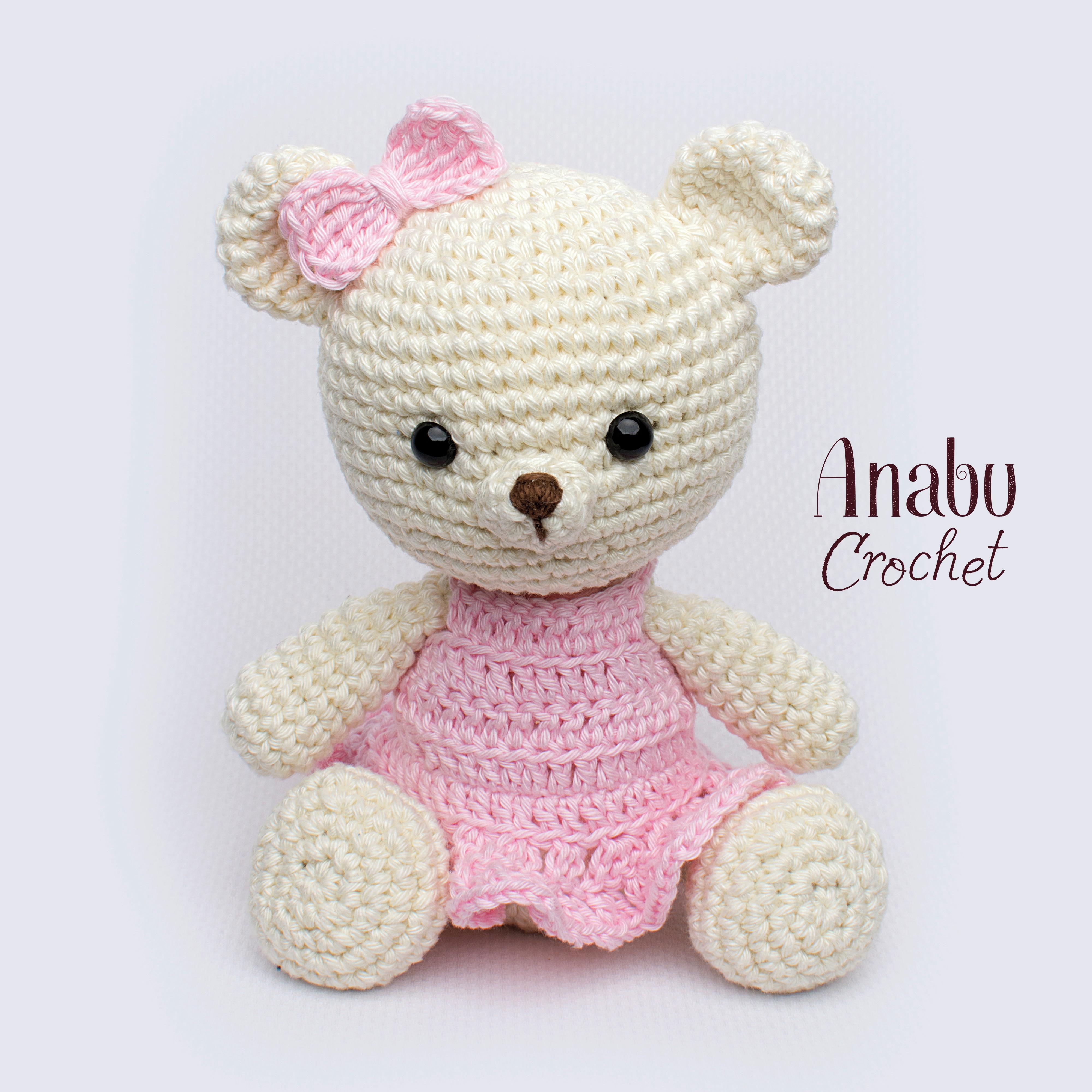 Pretty Bunny amigurumi in pink dress | Ganchillo amigurumi ... | 4000x4000