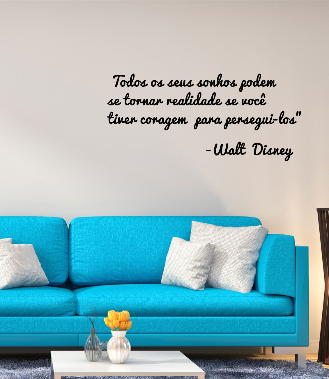Adesivo Mensagem Motivacional Walt Disney No Elo7 Patronoom 114eb43