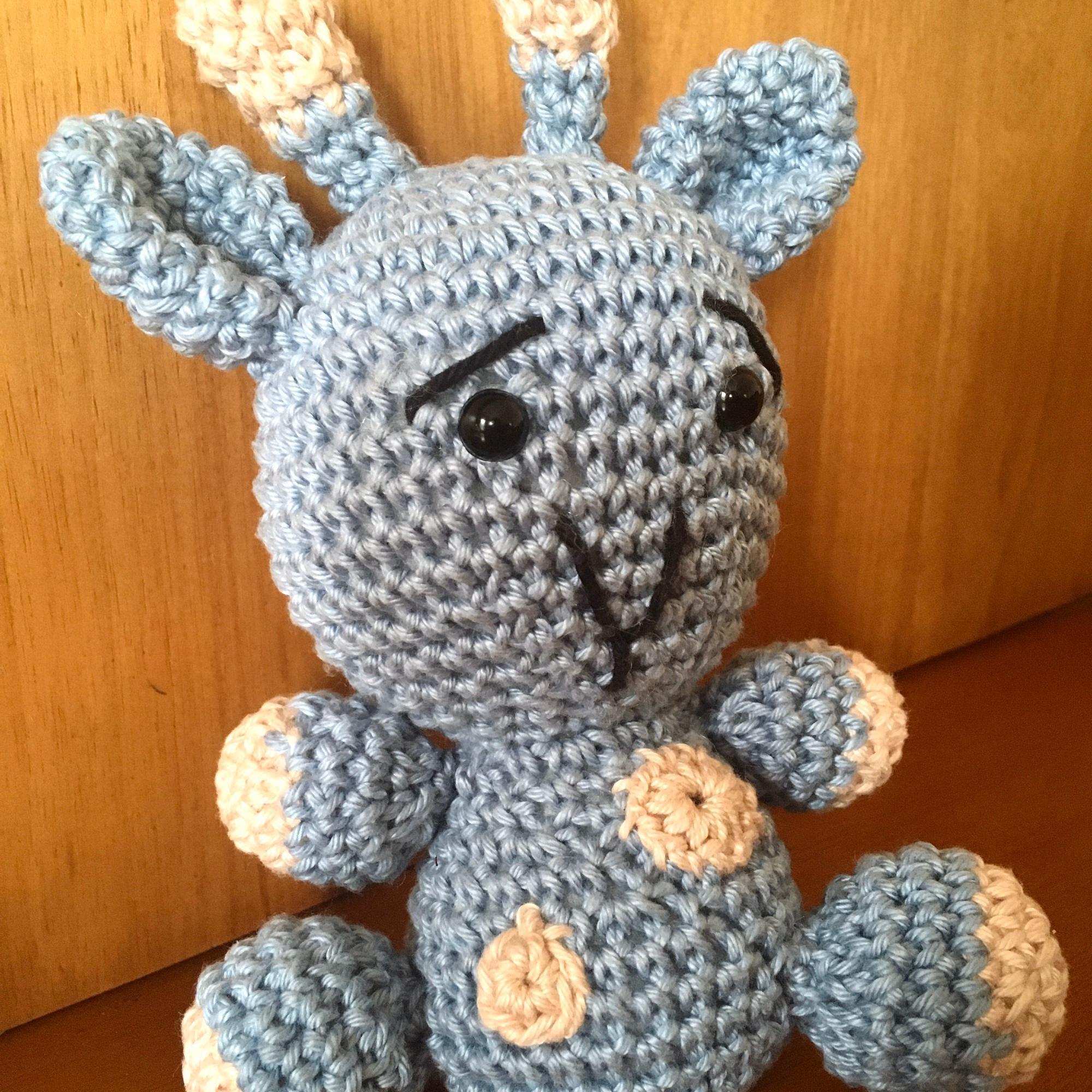 Amigurumi Girafa de Croche | Amigurumi de animais de crochê ... | 2000x2000