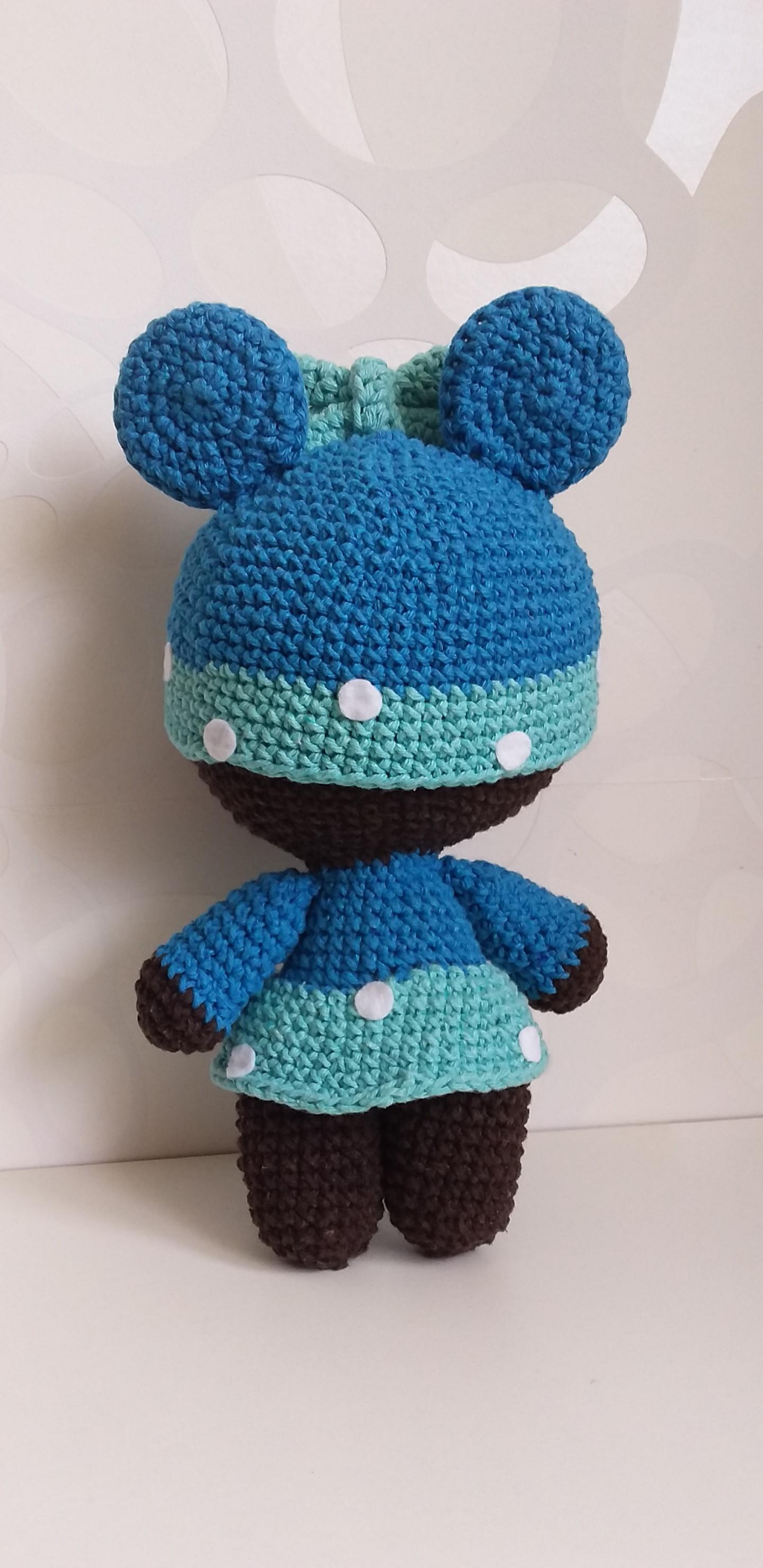 Boneca bebê yoyo Minnie no Elo7   Little Things Amigurumis (A8B84E)   2960x1440