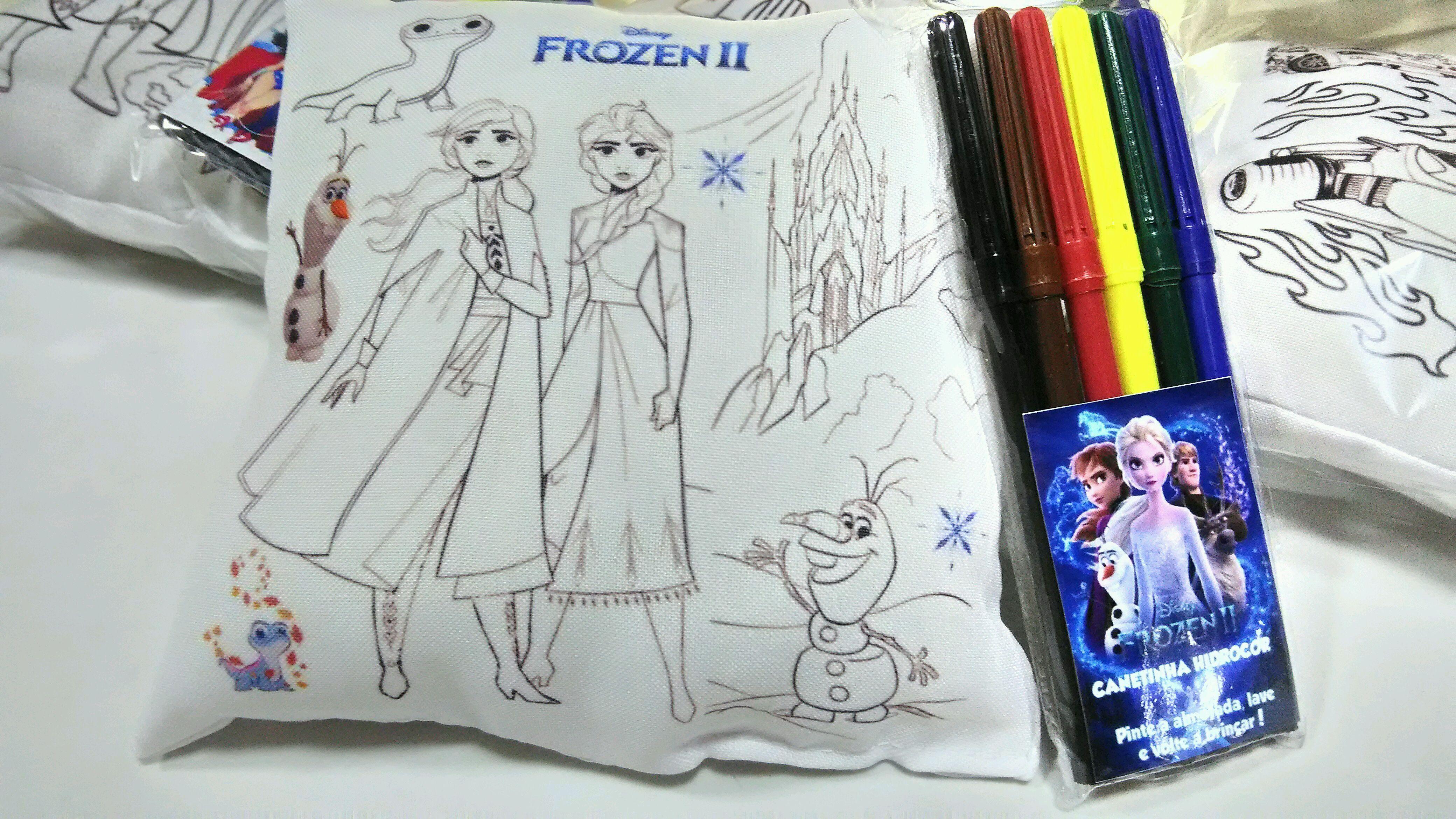 Almofada Frozen Para Pintar No Elo7 Kath S 11a6b57