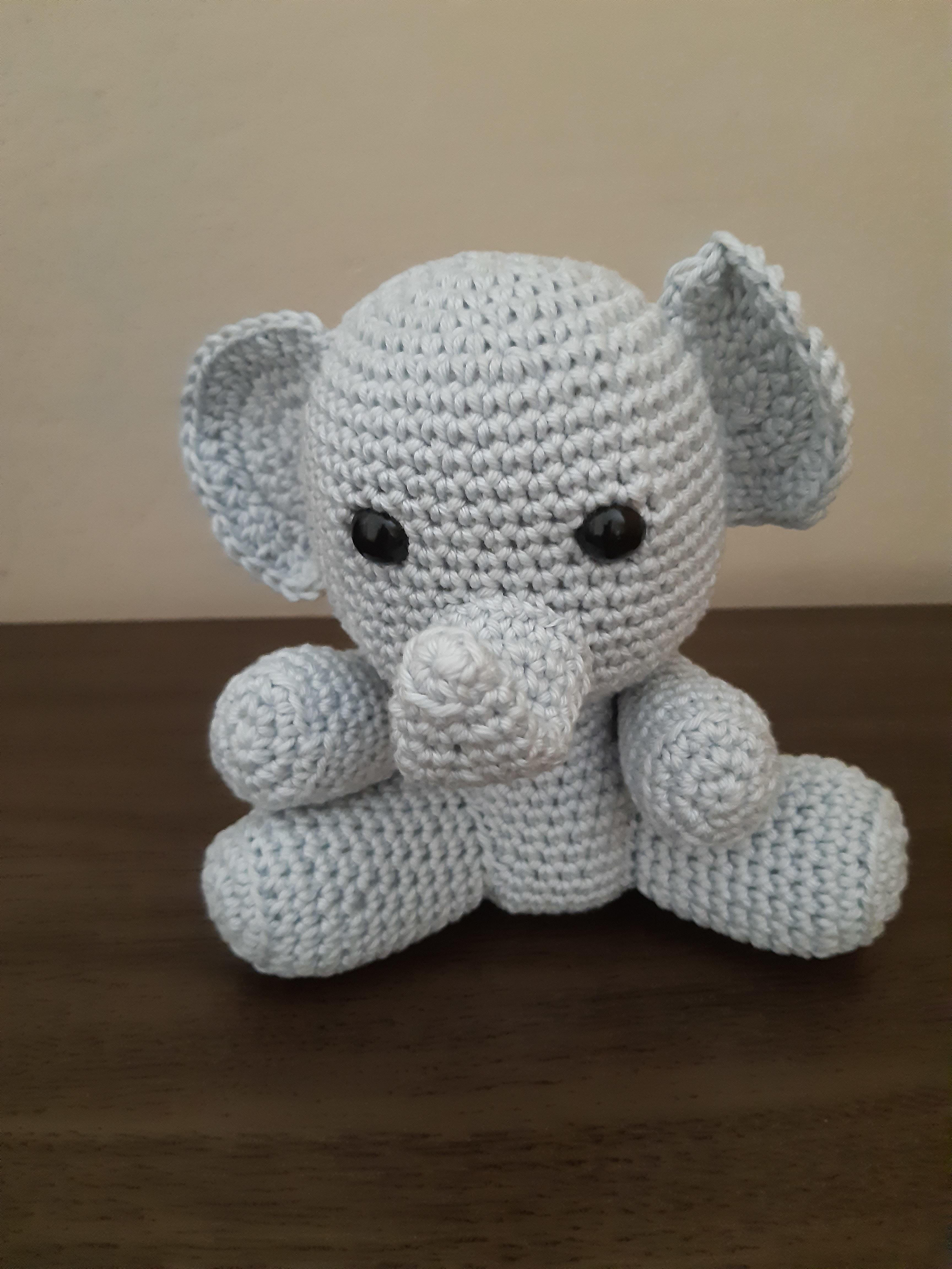 Amigurumi do Zero #36 - Como Fazer um Elefante ♥ - Parte 1 - YouTube | 4608x3456