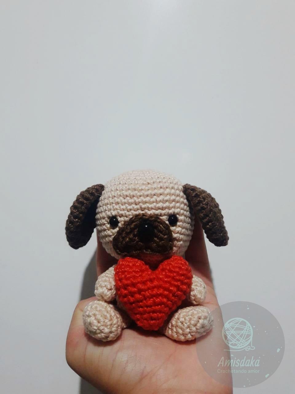 Crochet Adorable Pug Amigurumi Dog Part 1 of 2 DIY Tutorial - YouTube | 1280x960