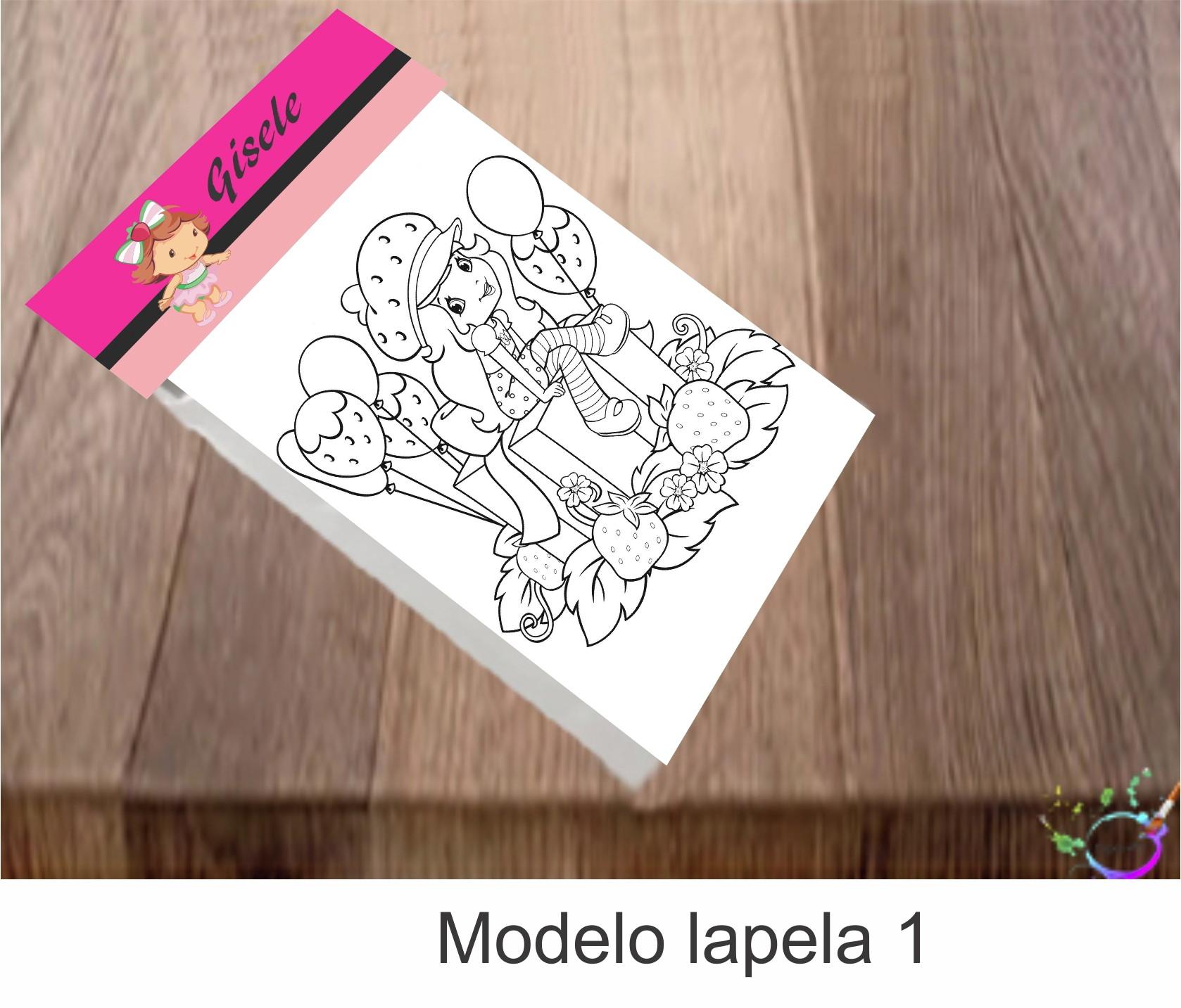 Desenhos De Colorir Moranguinho No Elo7 Tipoart 11b5cd8