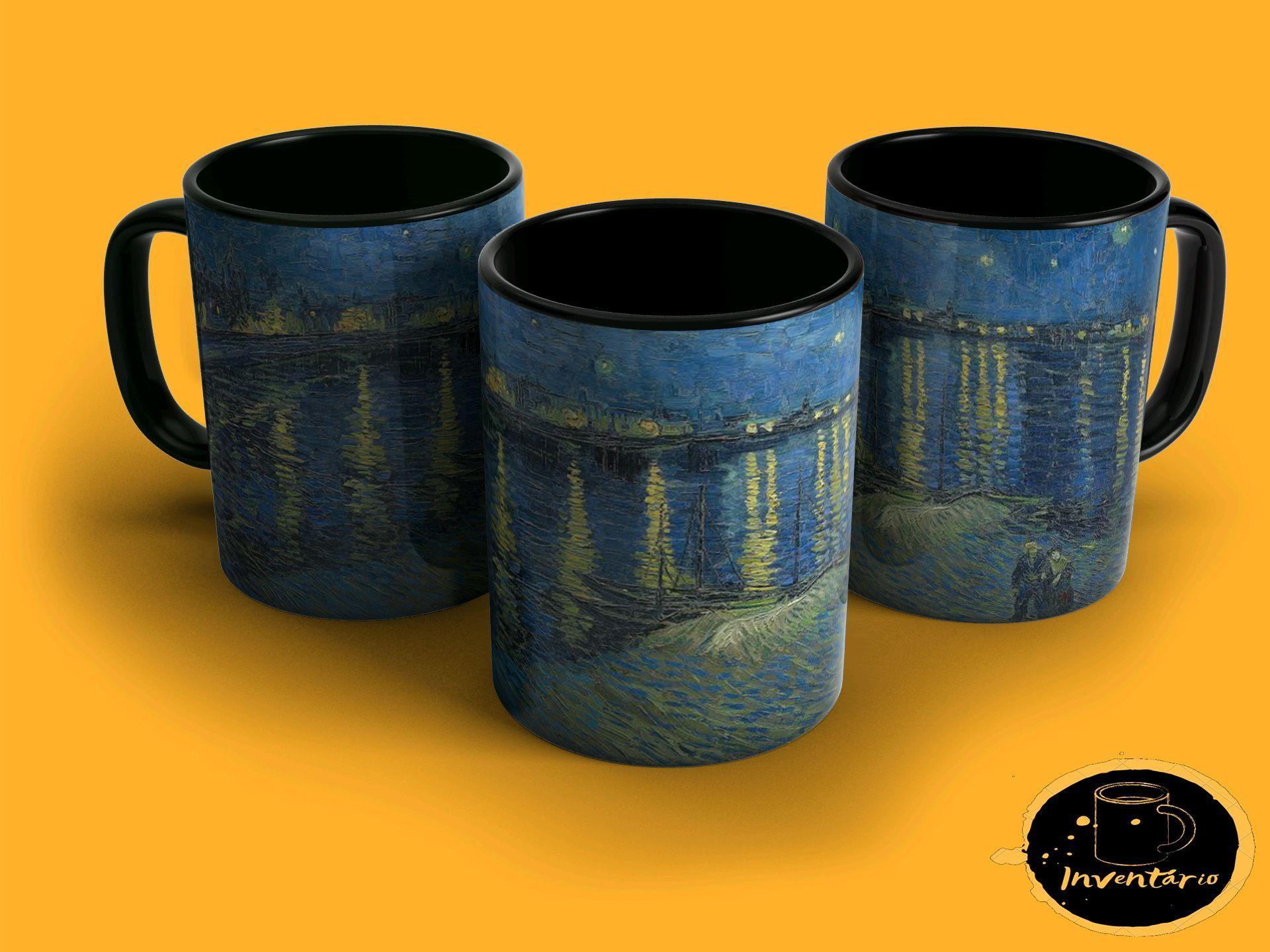 Caneca Noite Estrelada Vincent Van Gogh No Elo7 Inventario