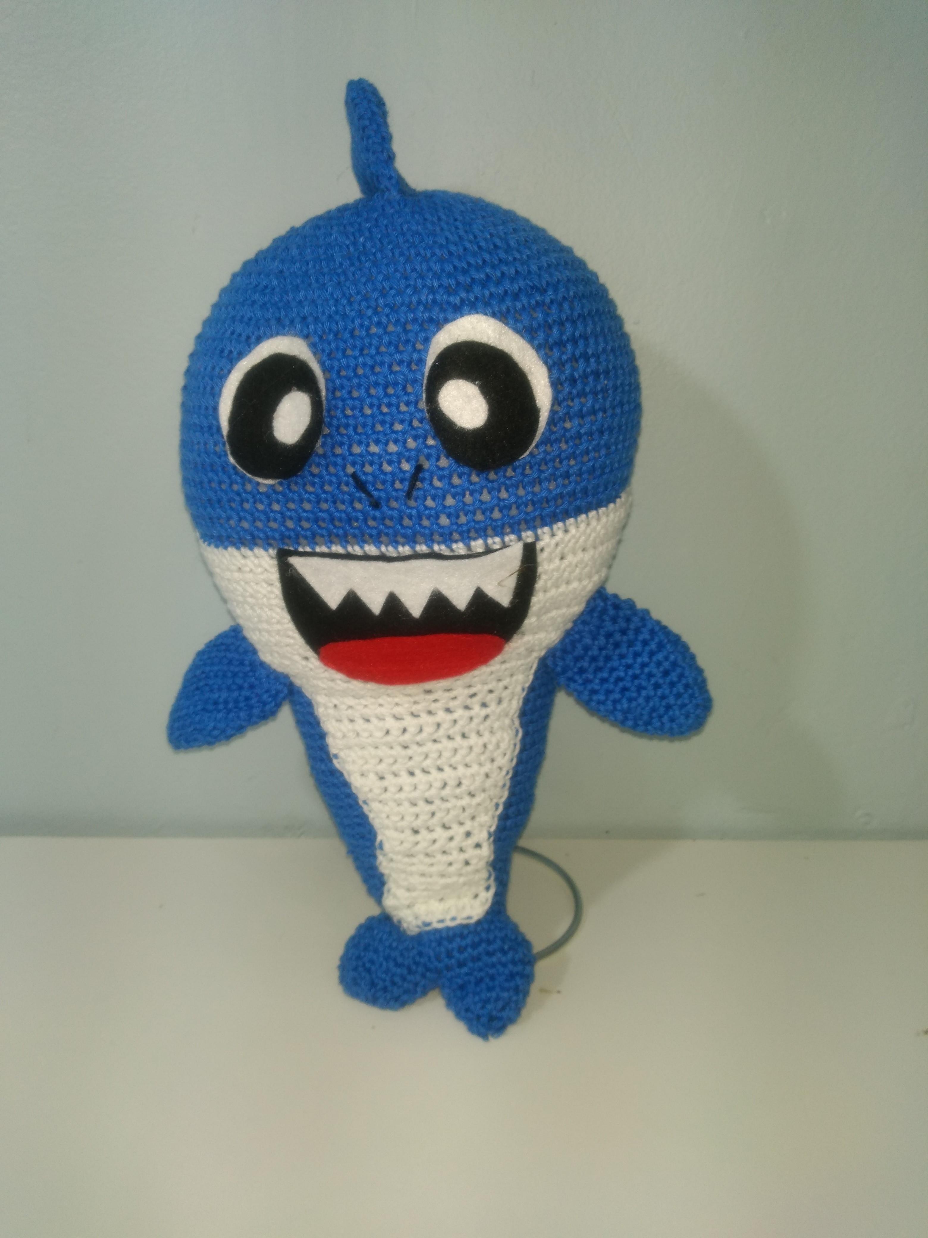 Ravelry: Baby Shark Amigurumi pattern by Shaimaa Qamar | 4160x3120