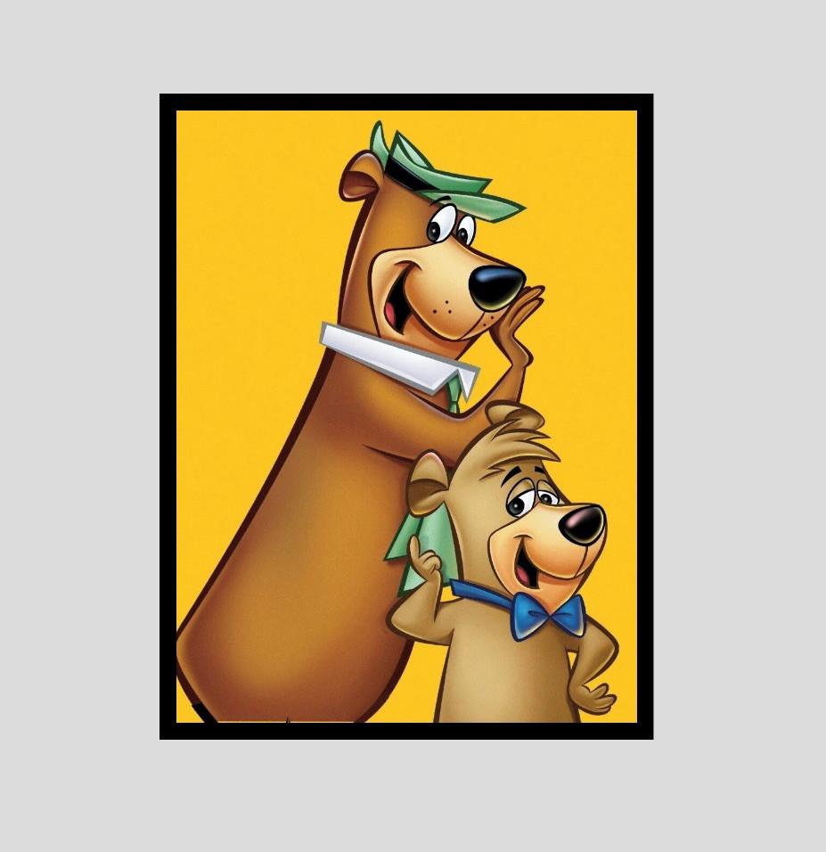 Quadro Ze Colmeia Catatau Ursos Desenho Animado Anos 80 No Elo7 Luar Vegano 11e9127