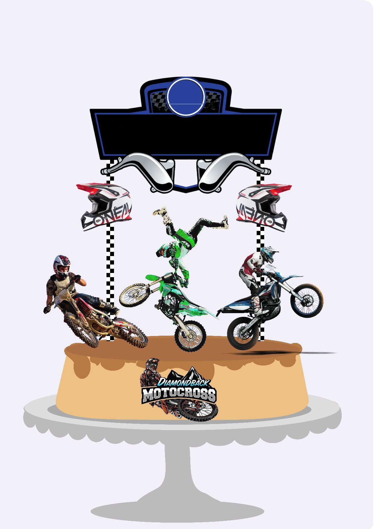 Topo De Bolo Motocross No Elo7 Personalizow 11e9fbe