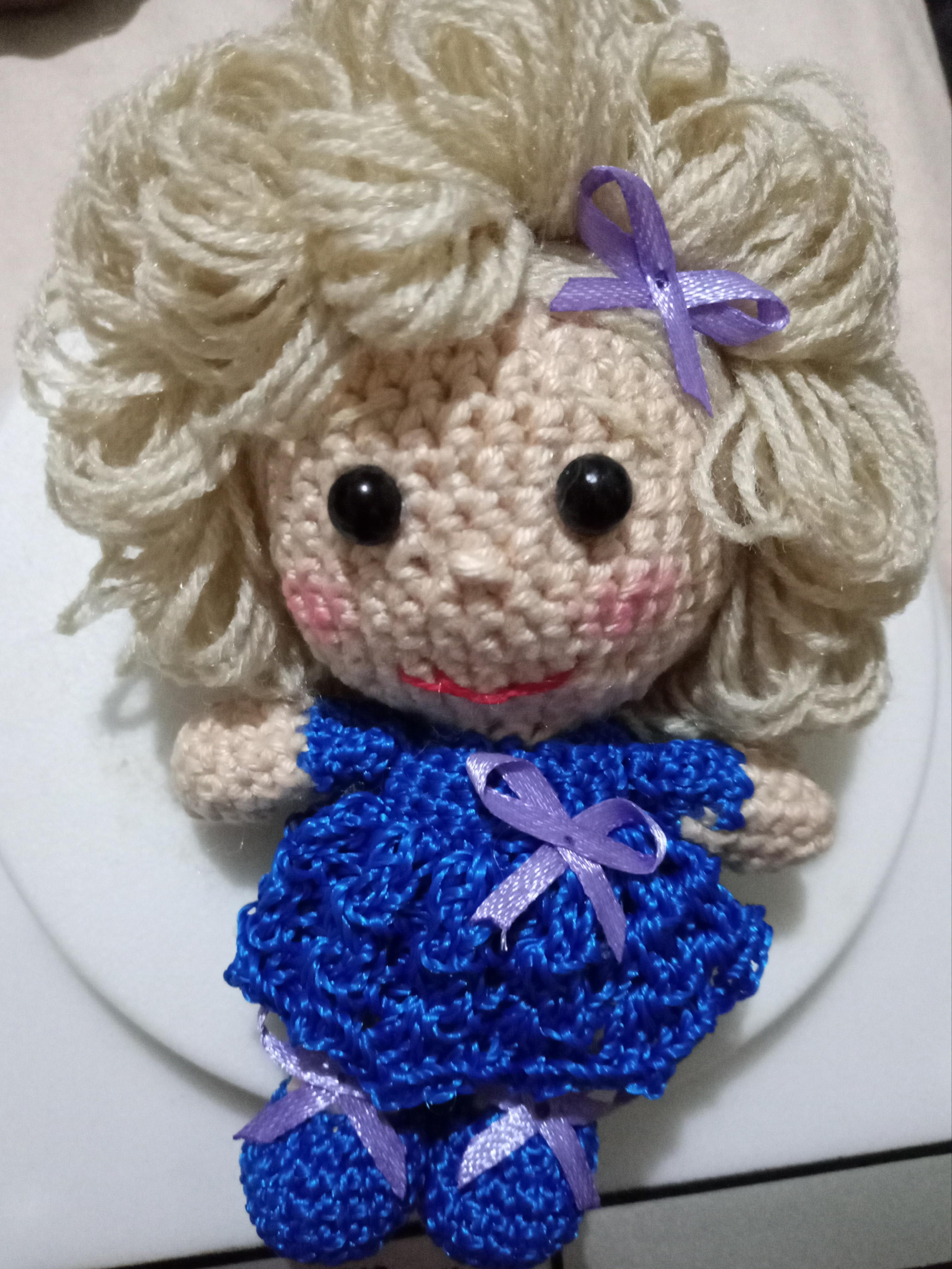 Amigurumi Boneca pra filha Chaveiro... - Ledde Croche e Cia | Facebook | 4020x3015