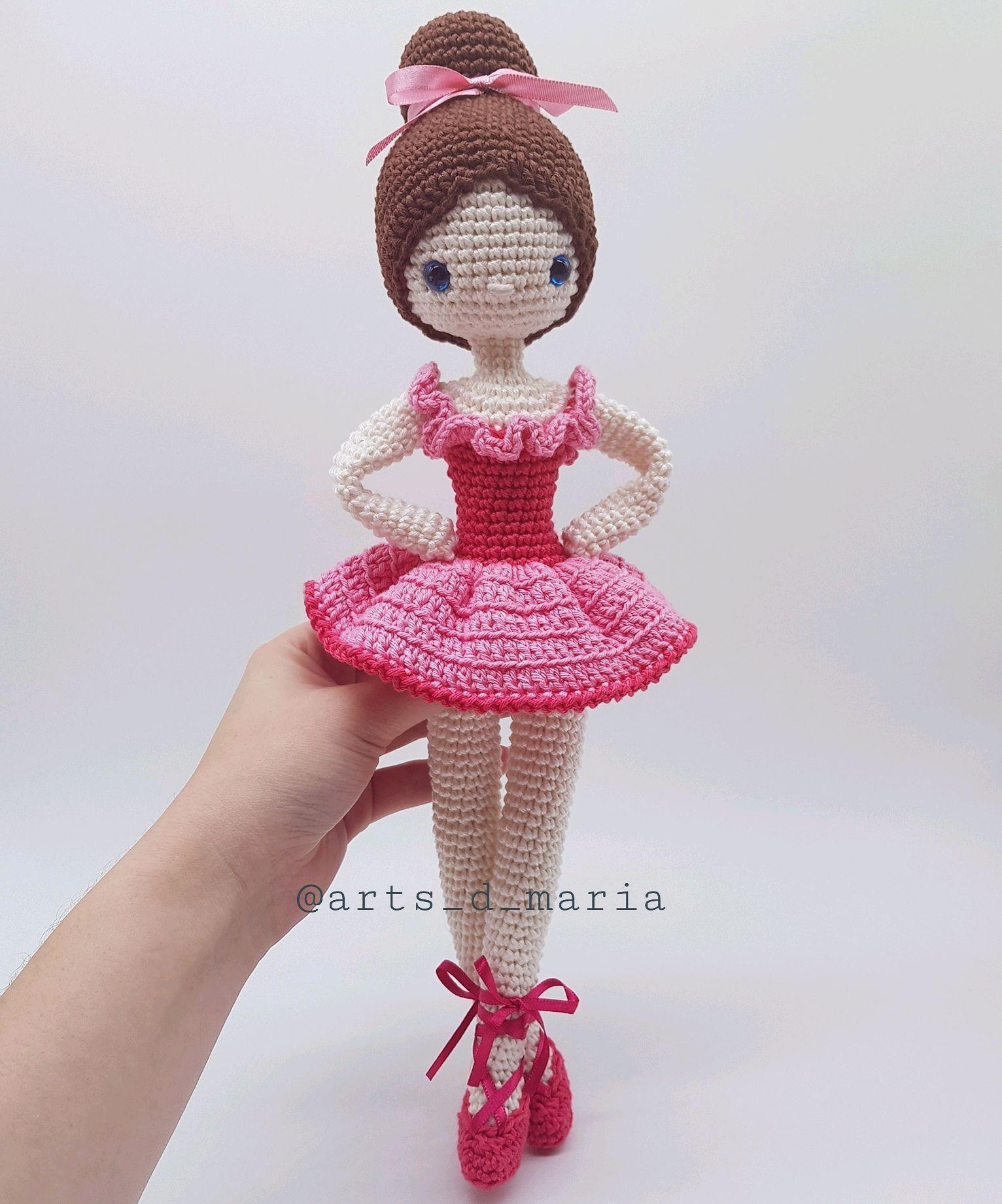 Boneca Bailarina - Amigurumi   Como fazer boneca, Bonecas, Boneca ...   1842x1532