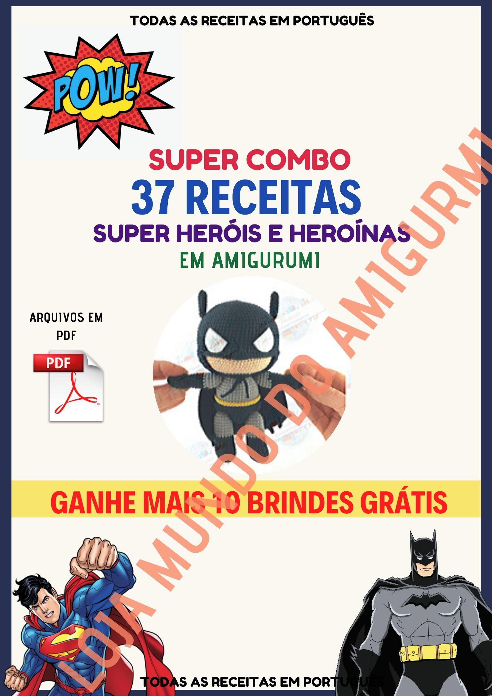 Amigurumi super herois- Qual o preferido de voce? - YouTube   2245x1587