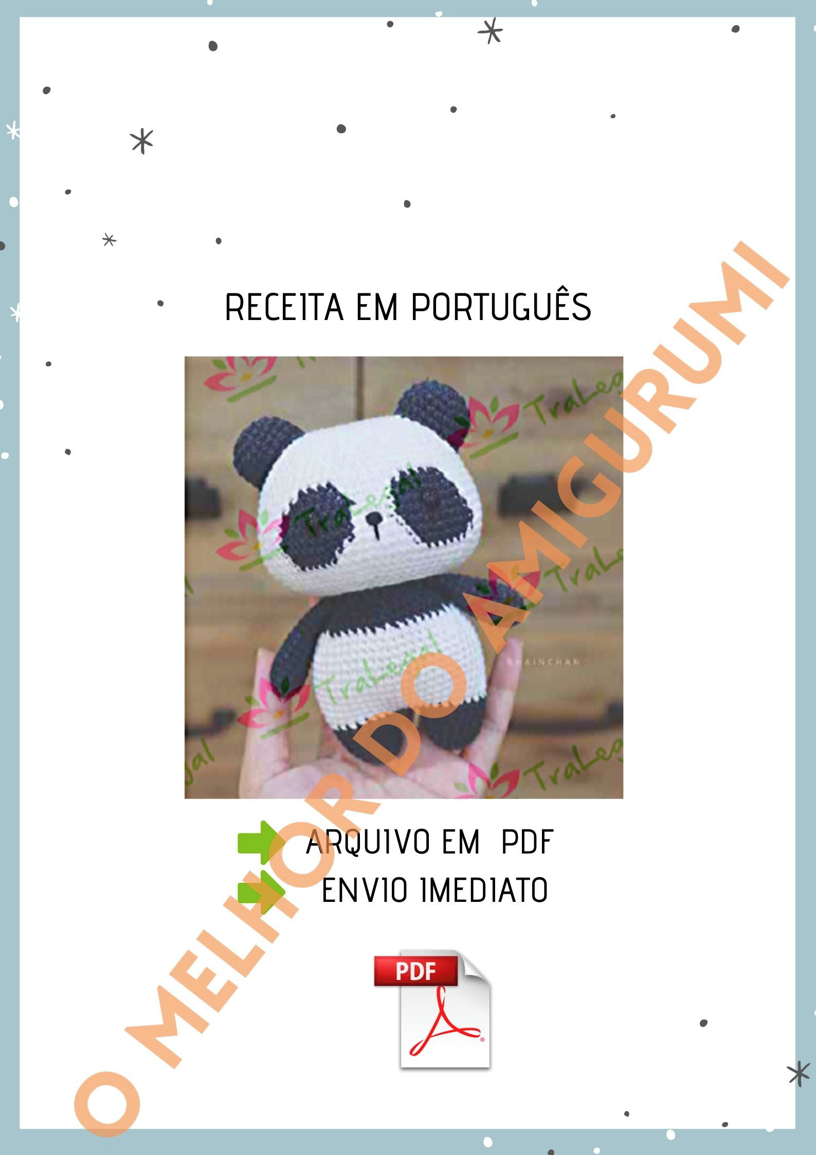 Receitas Amigurumi Ursos - Ursinho de Crochê Amigurumi (Receita ... | 2245x1587