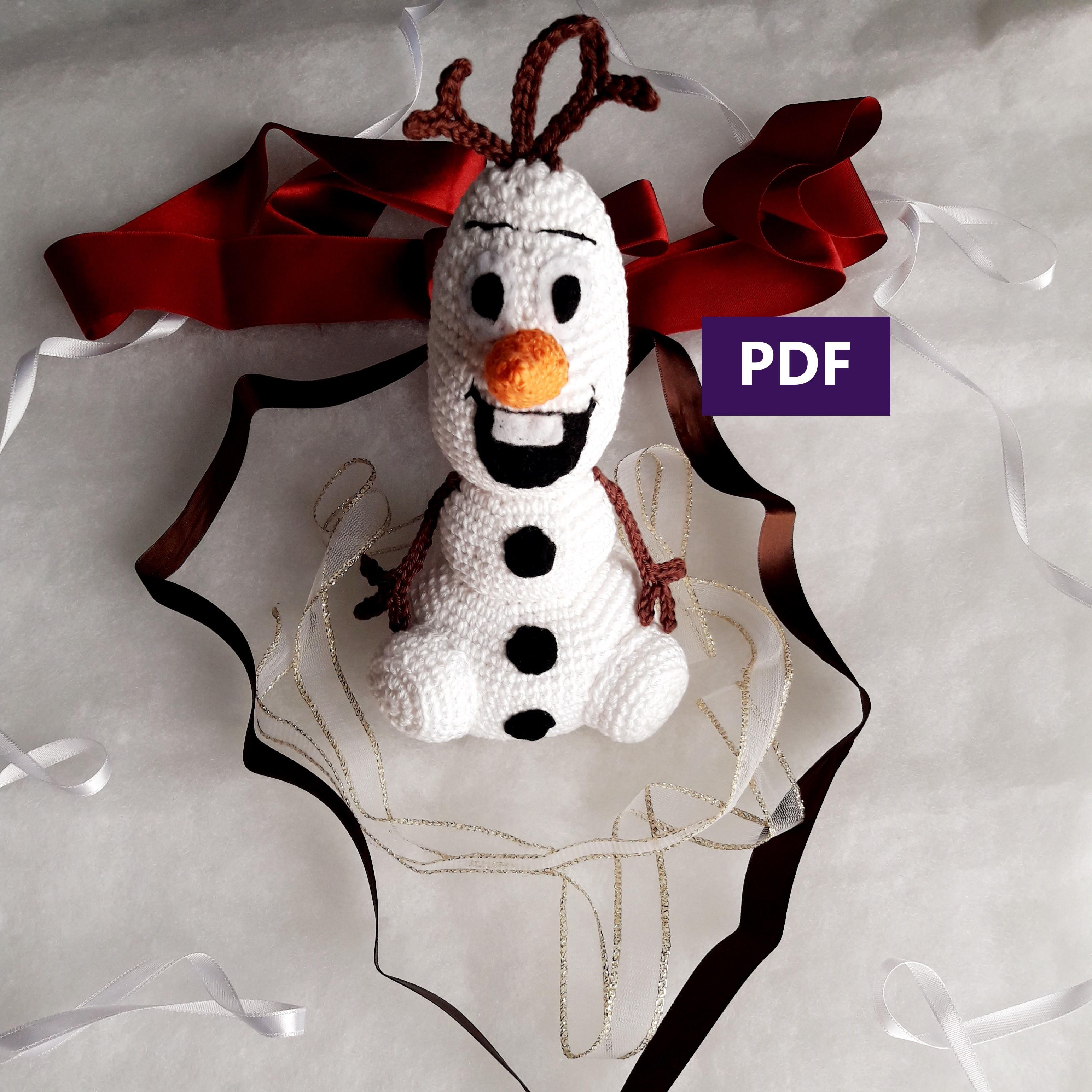 Amigurumi Boneco de neve para arvore de natal - YouTube | 3088x3088