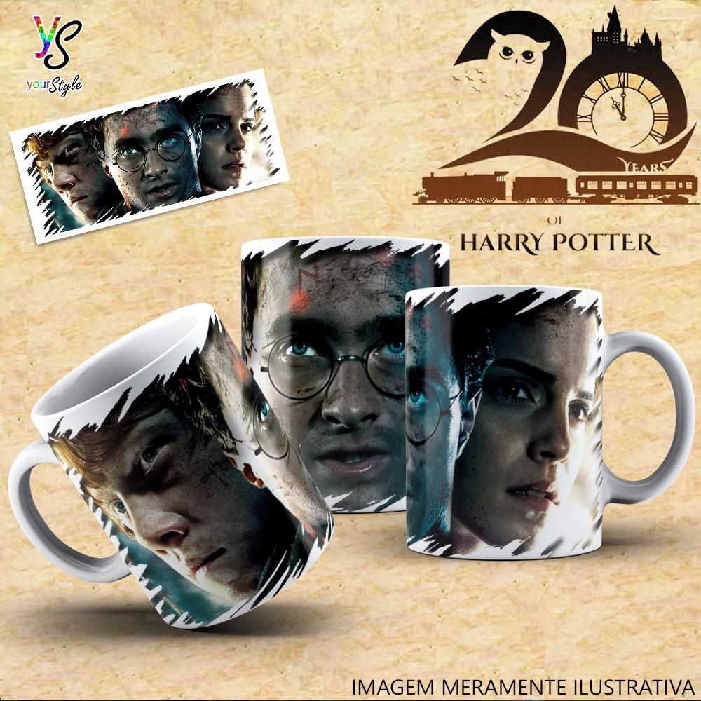 caneca harry potter ronald herminione personagens no elo7 bem bolado produtos personalizados 1247607 elo7