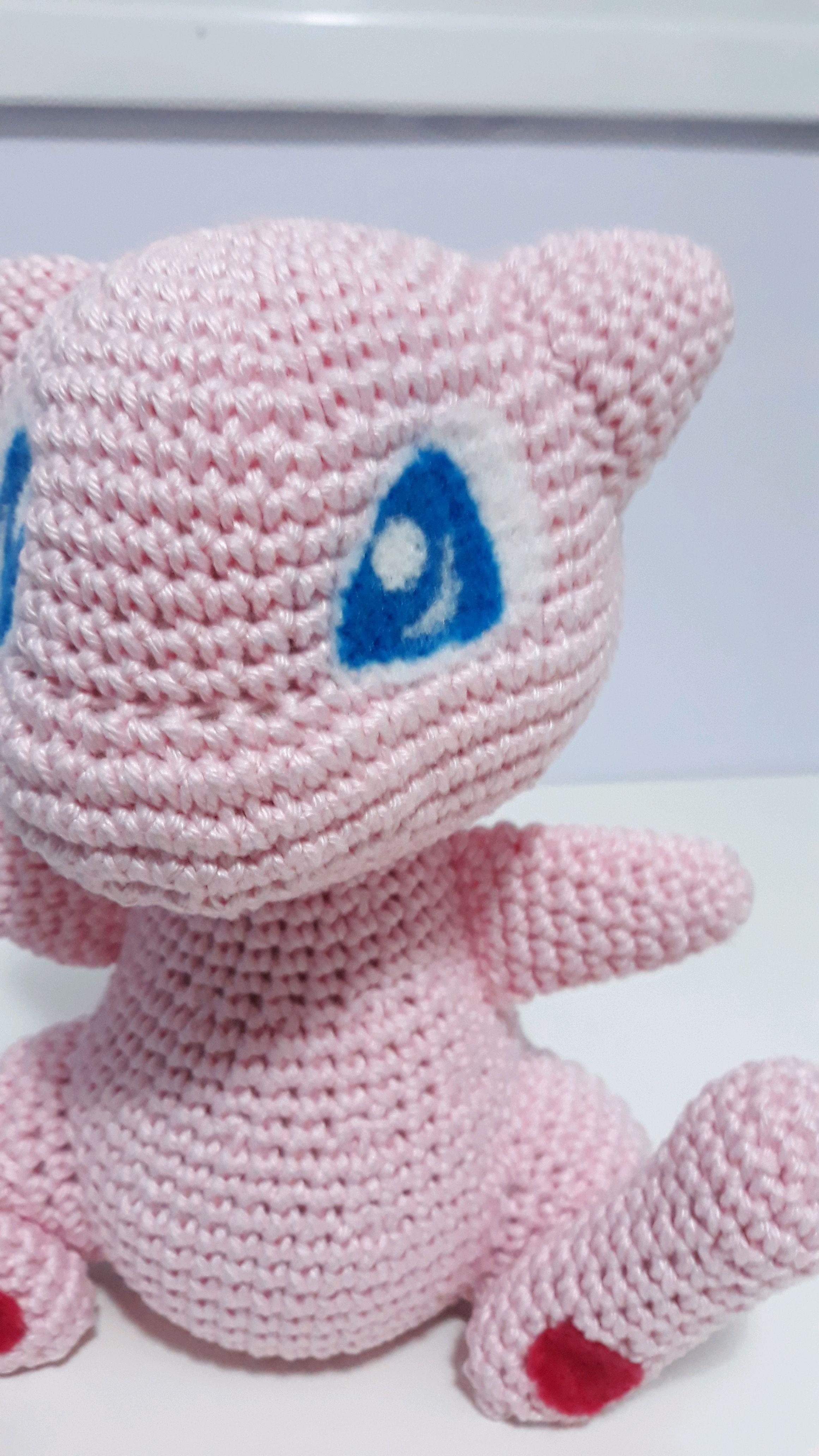 Cute Mew amigurumi BIG EYED VERSION by PhandasCreations on Etsy ...   4128x2322