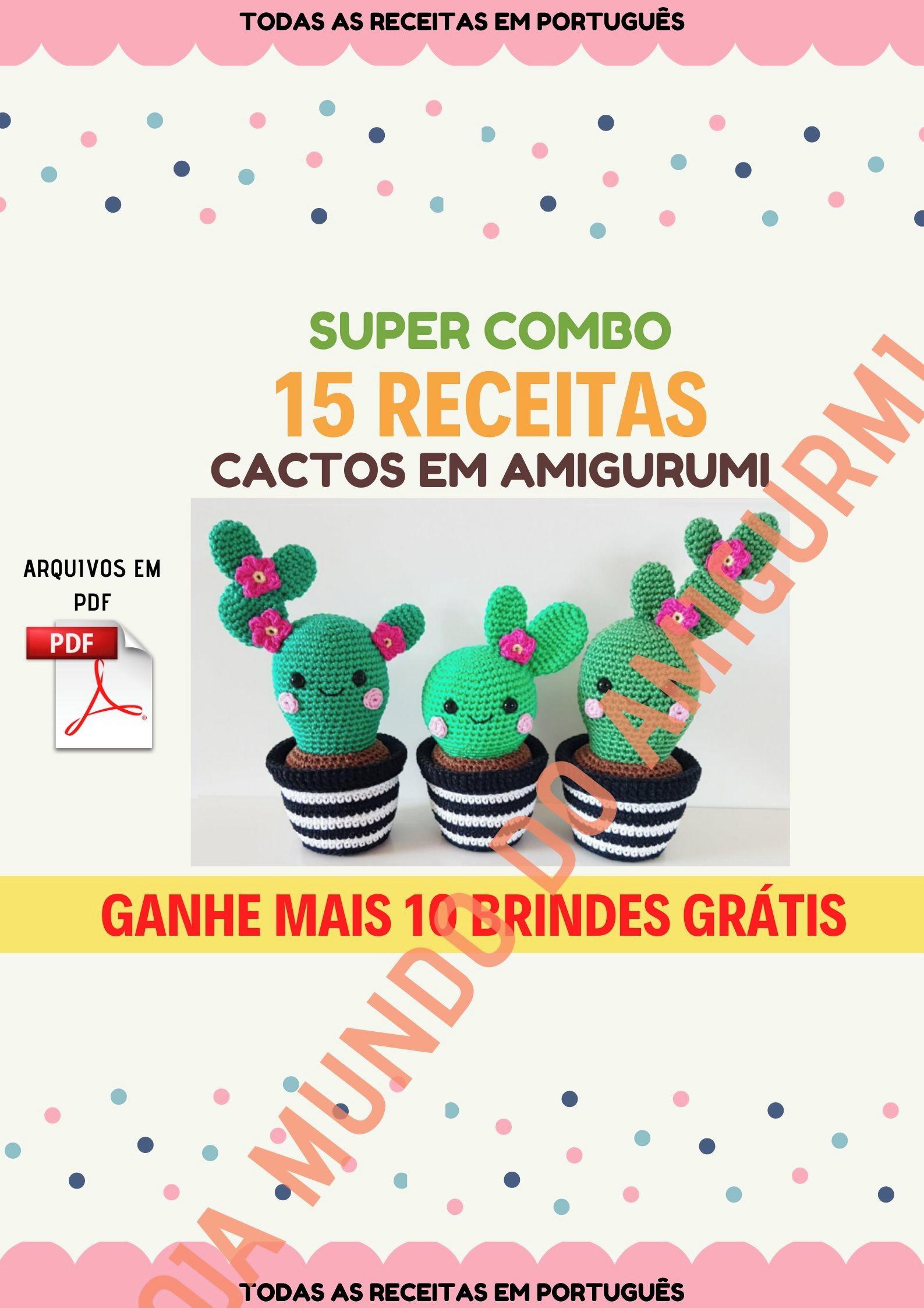 105 Receitas De Amigurumis Em Português: Descubra Como Milhares De ...   2245x1587
