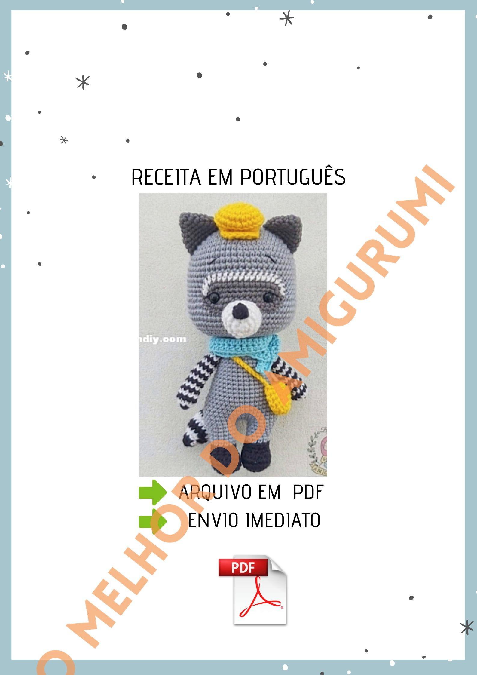 PDF CROCHET PATTERN Deadpool Inspired Chibi Amigurumi | Crochet ... | 2245x1587